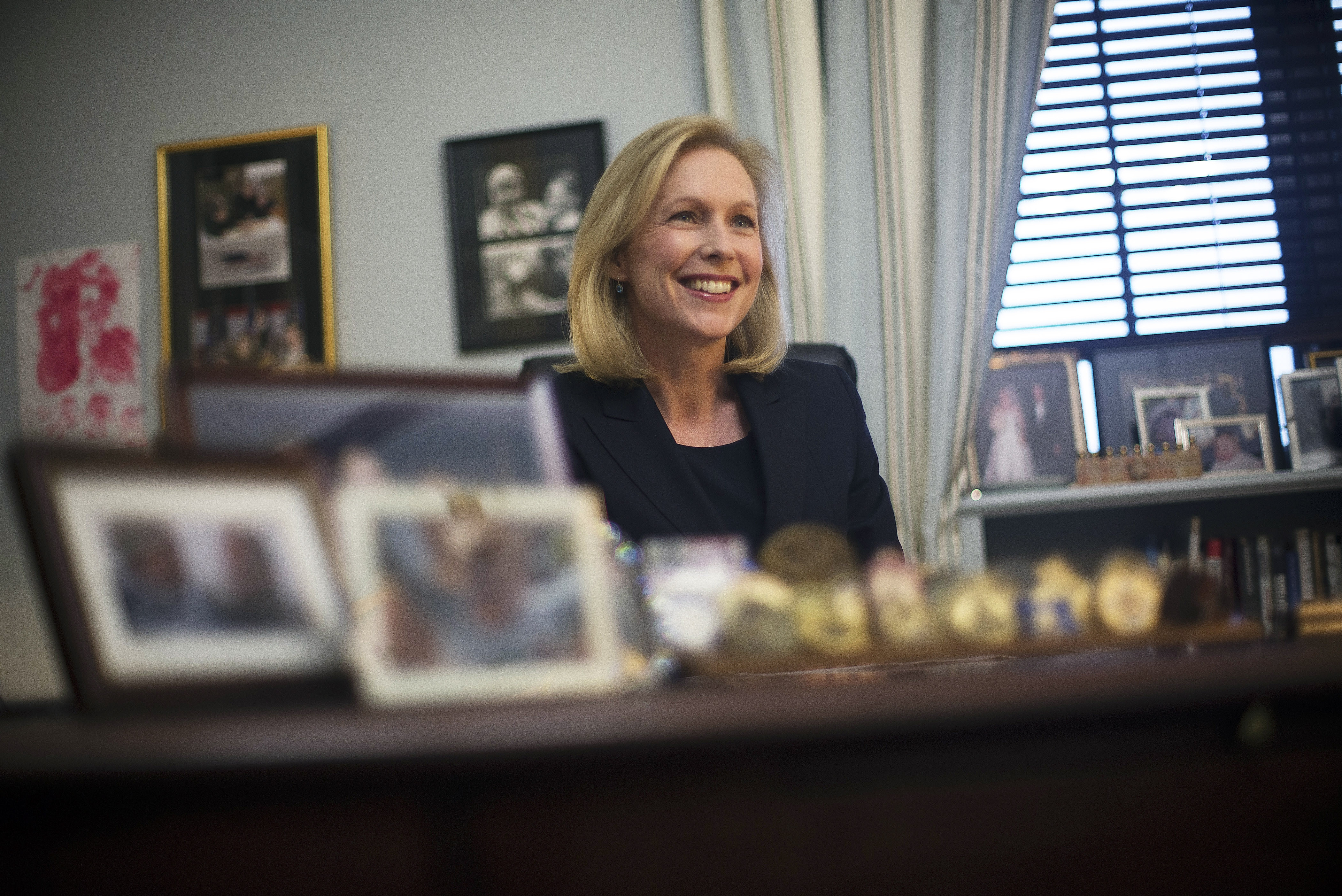 Sen. Kirsten Gillibrand, D-N.Y., will continue to push for her tougher bill to prevent sexual assaults in the military. (New York Times photo)