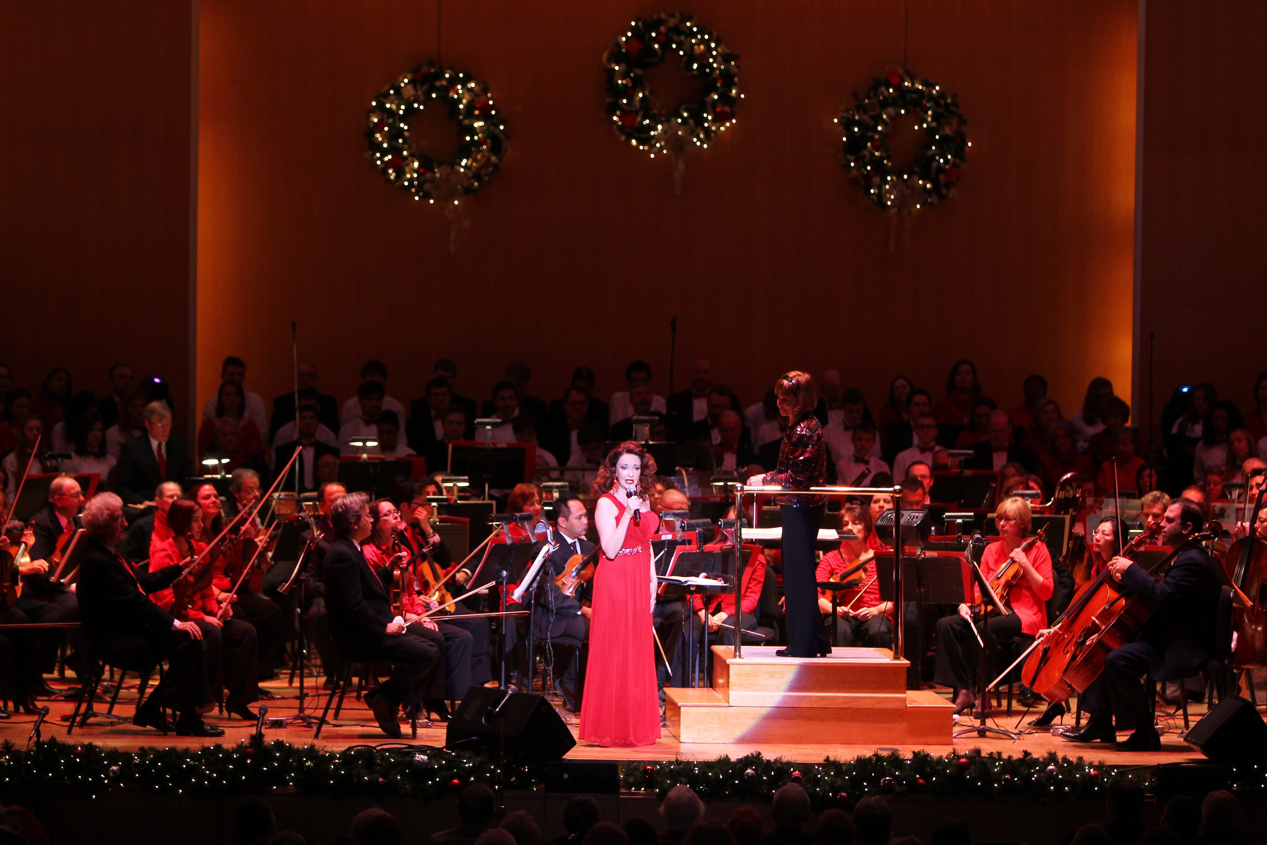 Broadway star and Buffalo native Michele Ragusa performs Friday morning with the Buffalo Philharmonic Orchestra.