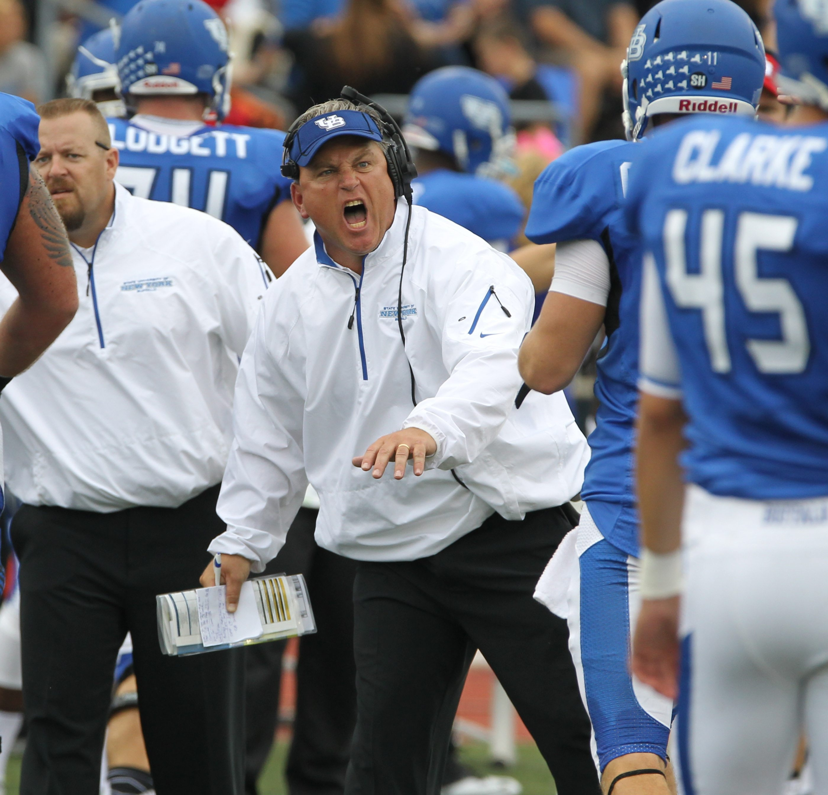 There's been plenty of activities for his players this week, but UB coach Jeff Quinn doesn't believe the Bulls are straying from the task at hand.