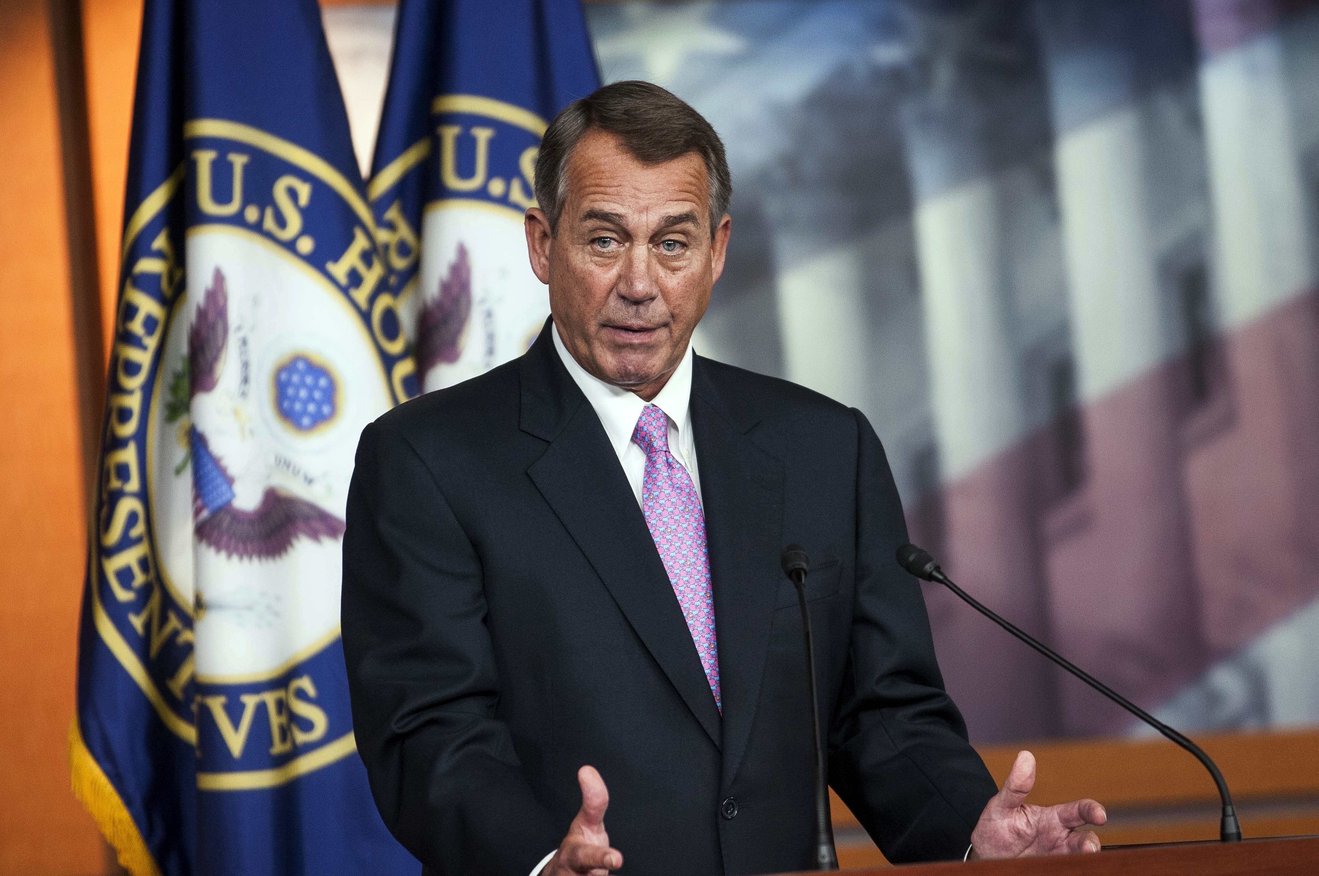 Speaker of the House John Boehner says his health care premiums will nearly double under Obamacare.