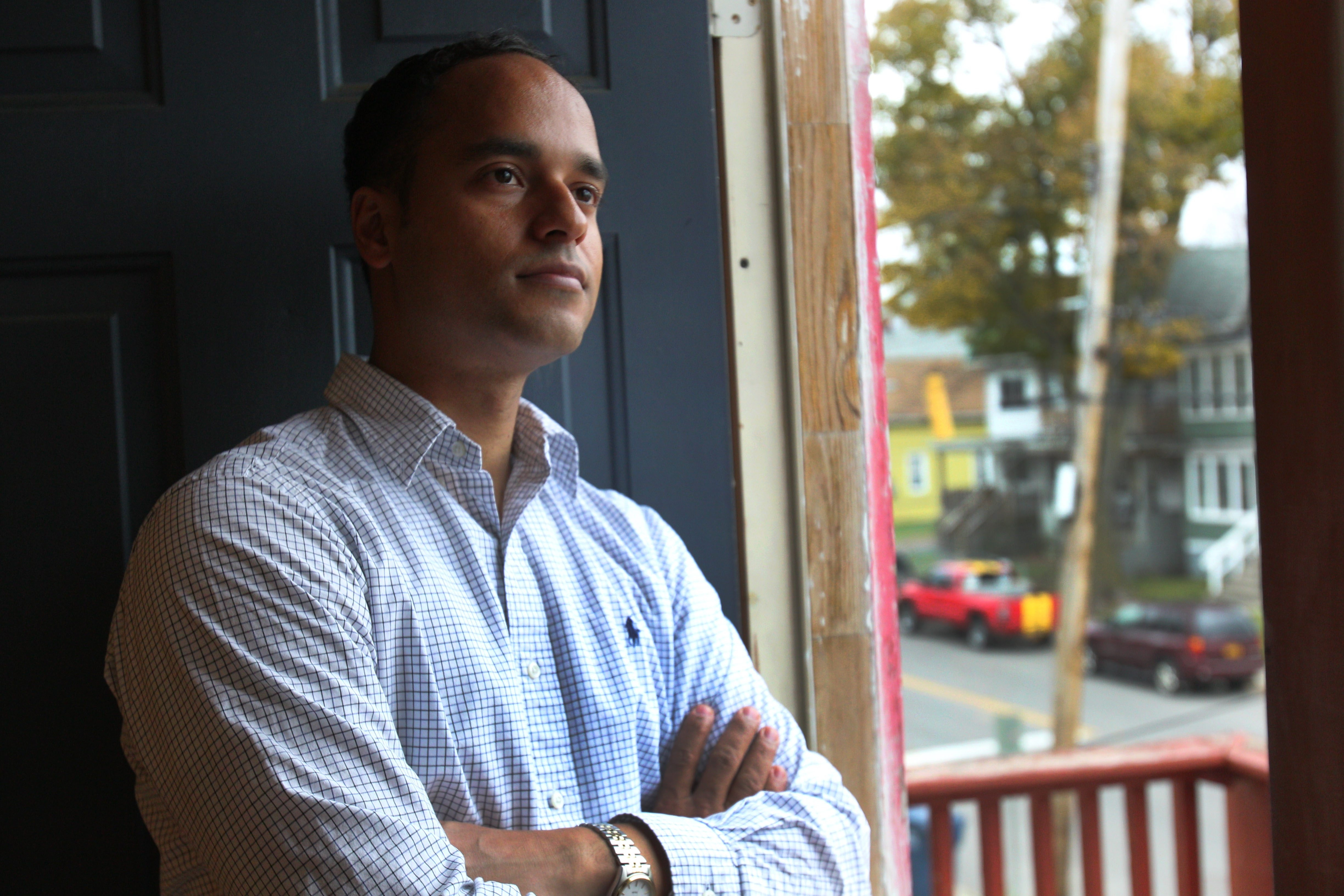 Sergio R. Rodriguez plans to run for the Buffalo School Board on a platform that emphasizes  parental involvement, increasing attendance rates and preparing students for the workforce.