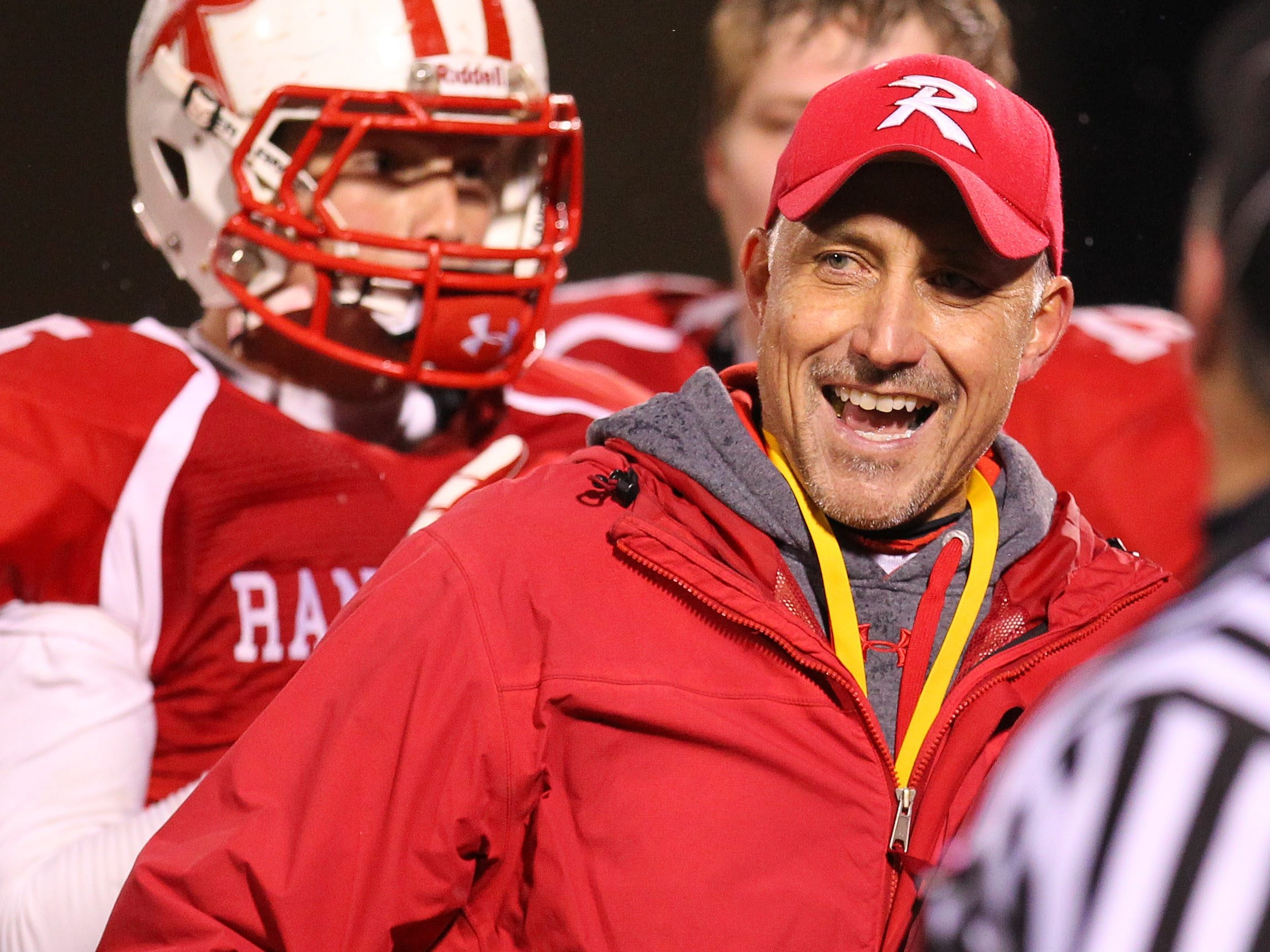 First-year coach Brent Brown took the Randolph Cardinals all the way to a state championship in Class D.