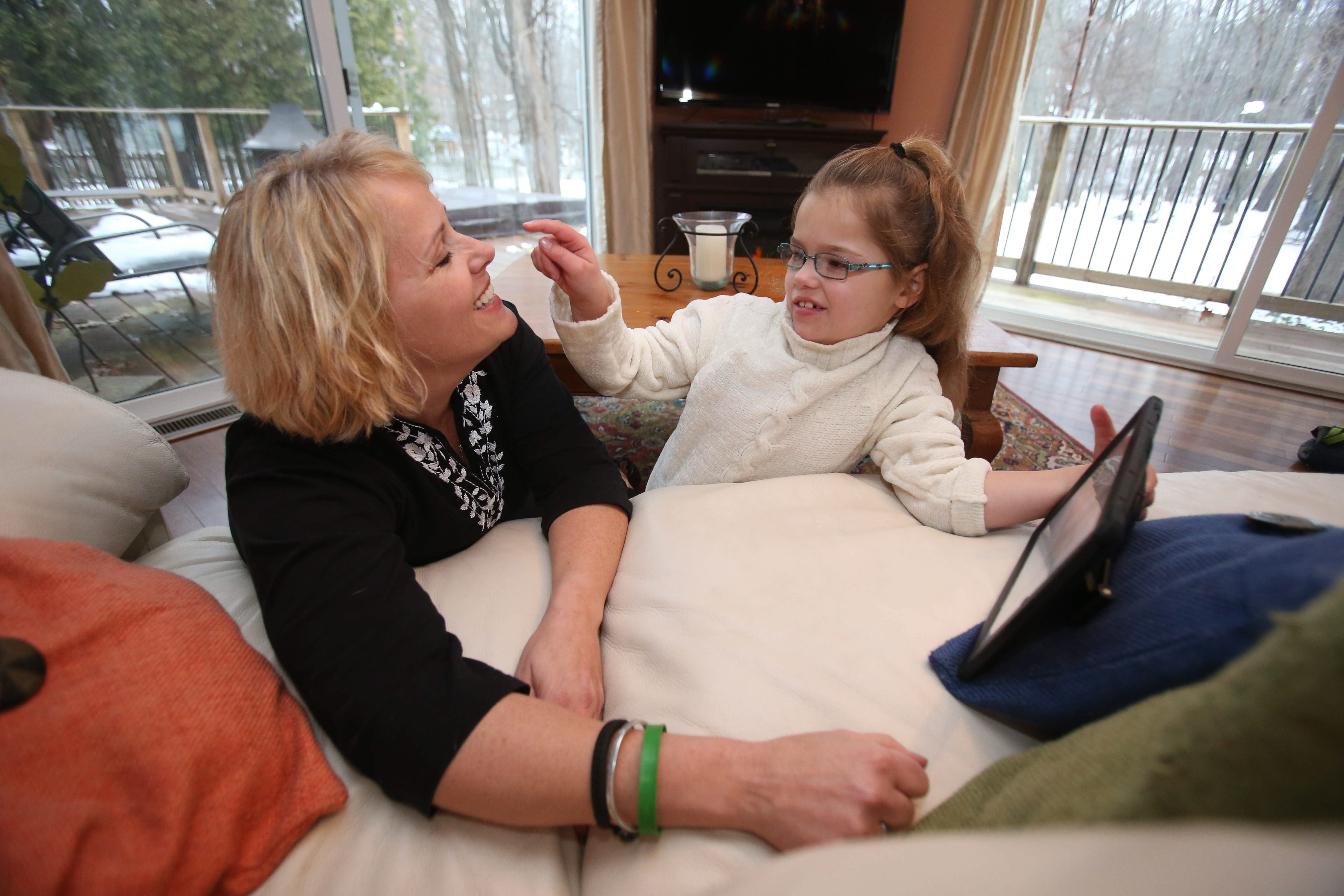 Wendy Conte of Orchard Park is pushing for Albany to allow the use of medical marijuana for children such as her 8-year-old daughter Anna, who suffers from severe seizures.
