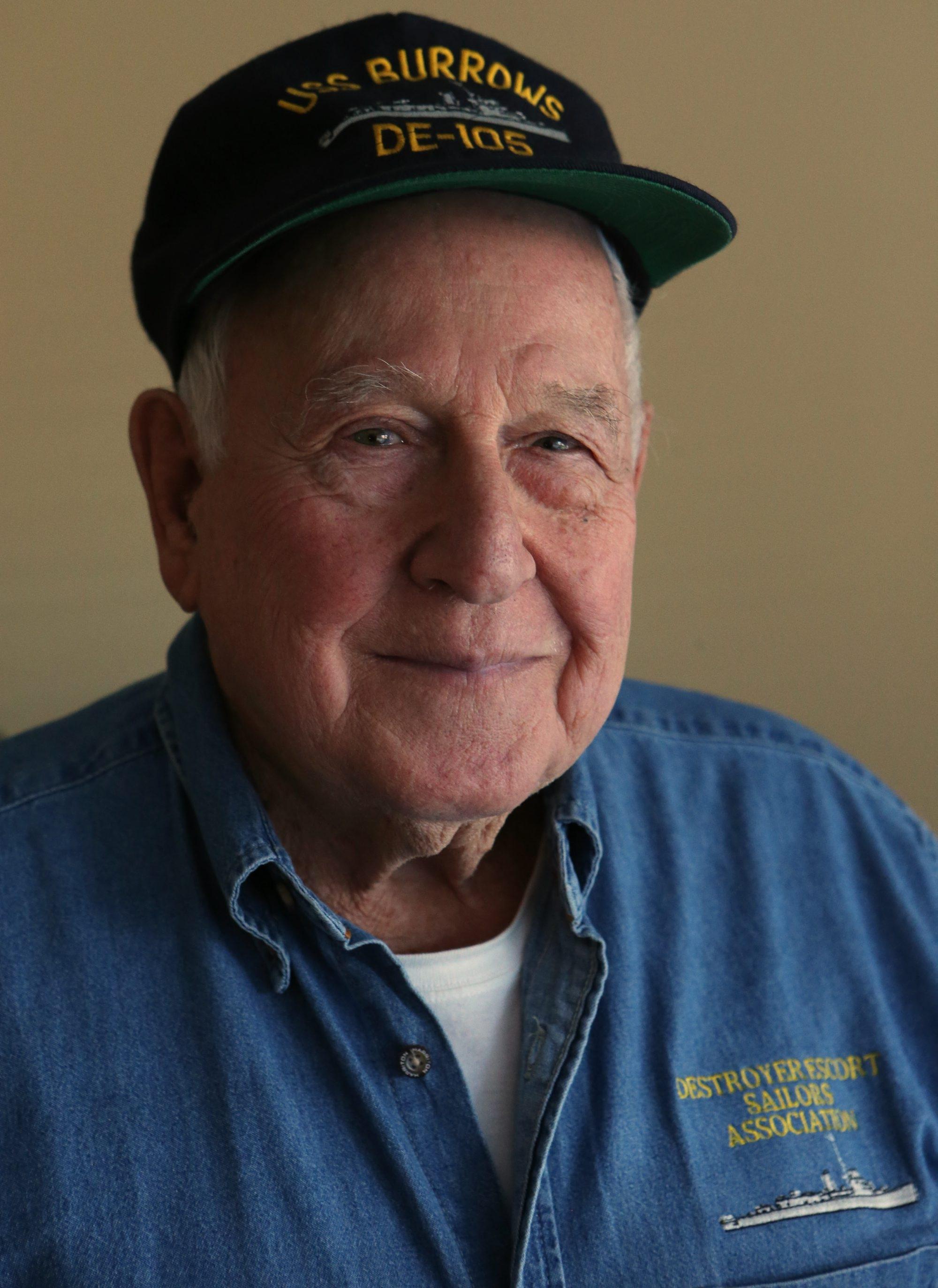 Fran Lucca served as a radioman on a U.S. Navy destroyer escort in World War II.