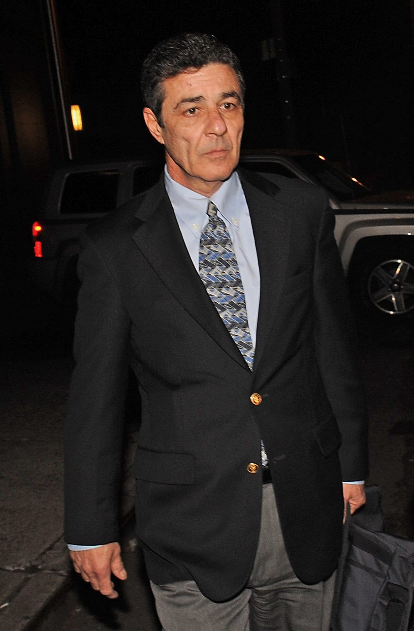 Frank DePascali exits federal court in New York on Wednesday.
