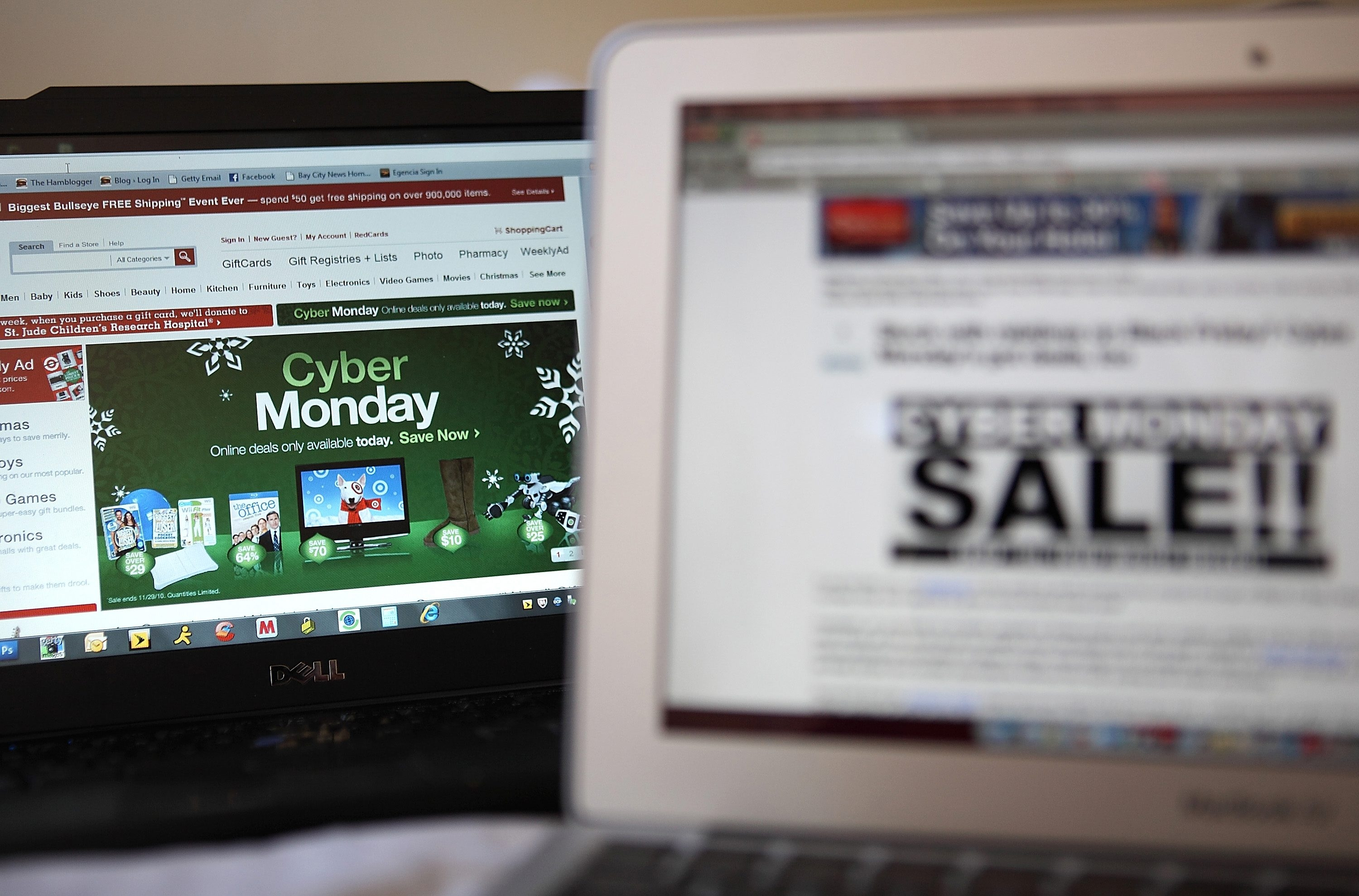 Following Black Friday, online retailers are rolling out deep discounts in hopes of luring people who are returning to work into making online purchases on what is now referred to as Cyber Monday.
