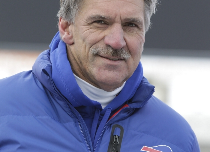 Dave Wannstedt more than landed on his feet after being swept out with the firing of ex-Bills head coach Chan Gailey last offseason. The former Bills defensive coordinator leads a strong special-teams unit with Tampa Bay.{File photo by Harry Scull Jr. / Buffalo News}