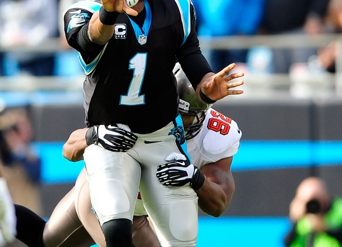 Cam Newton and the Carolina Panthers will go for their ninth consecutive win today at New Orleans.