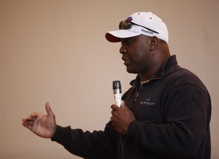 Former Buffalo Bills running back and NFL Hall of Fame member Thurman Thomas has been appointed to the New York State Tourism Advisory Council. (Derek Gee/Buffalo News)