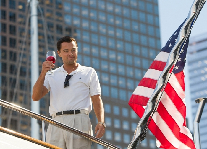 "Leonardo DiCaprio stars as Jordan Belfort in""The Wolf of Wall Street."""
