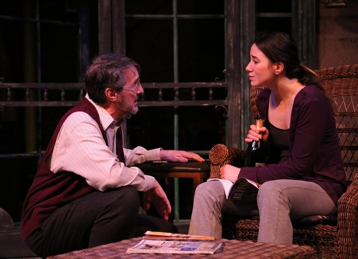 "Peter Palmisano and Jessica Wegrzyn star in the Kavinoky Theatre's production of ""Proof."""