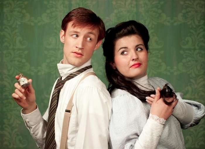 """Robbie Lindmark and Ainslee Litz star in """"Gifts of the Magi."""""""