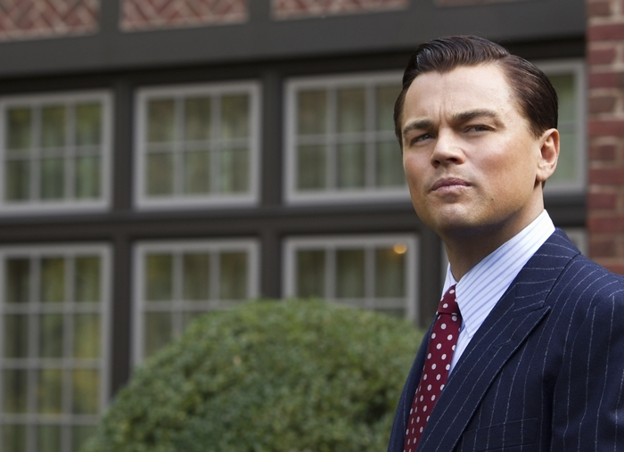 """Leonardo DiCaprio in """"The Wolf of Wall Street,"""" which runs 3 hours."""
