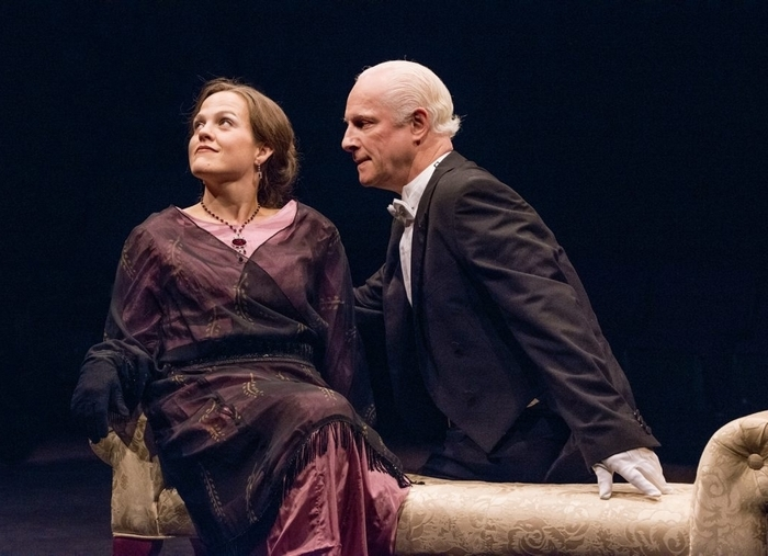 """Jenn Stafford and Vincent O'Neill star in """"A Woman of No Importance."""""""