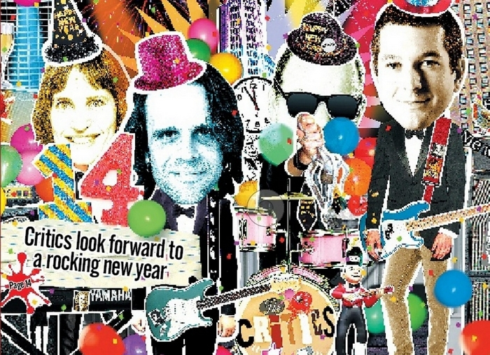 What will the New Year bring on the cultural front? News critics make their wishes.