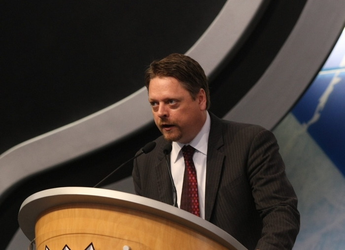 Tim Murray appears to be headed for the Sabres' general manager position. (Getty Images)