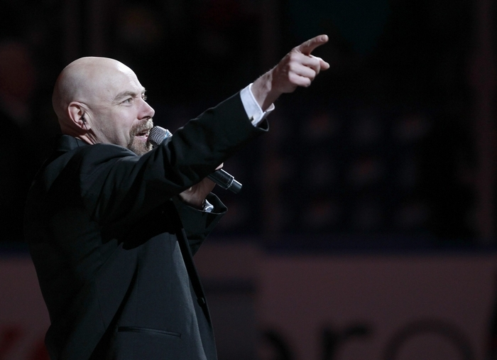 """""""When people ask about my education, they are surprised I'm a maintenance guy. We all have strange paths in life, and that's mine."""" – Doug Allen, national anthem singer (Harry Scull Jr./Buffalo News)"""