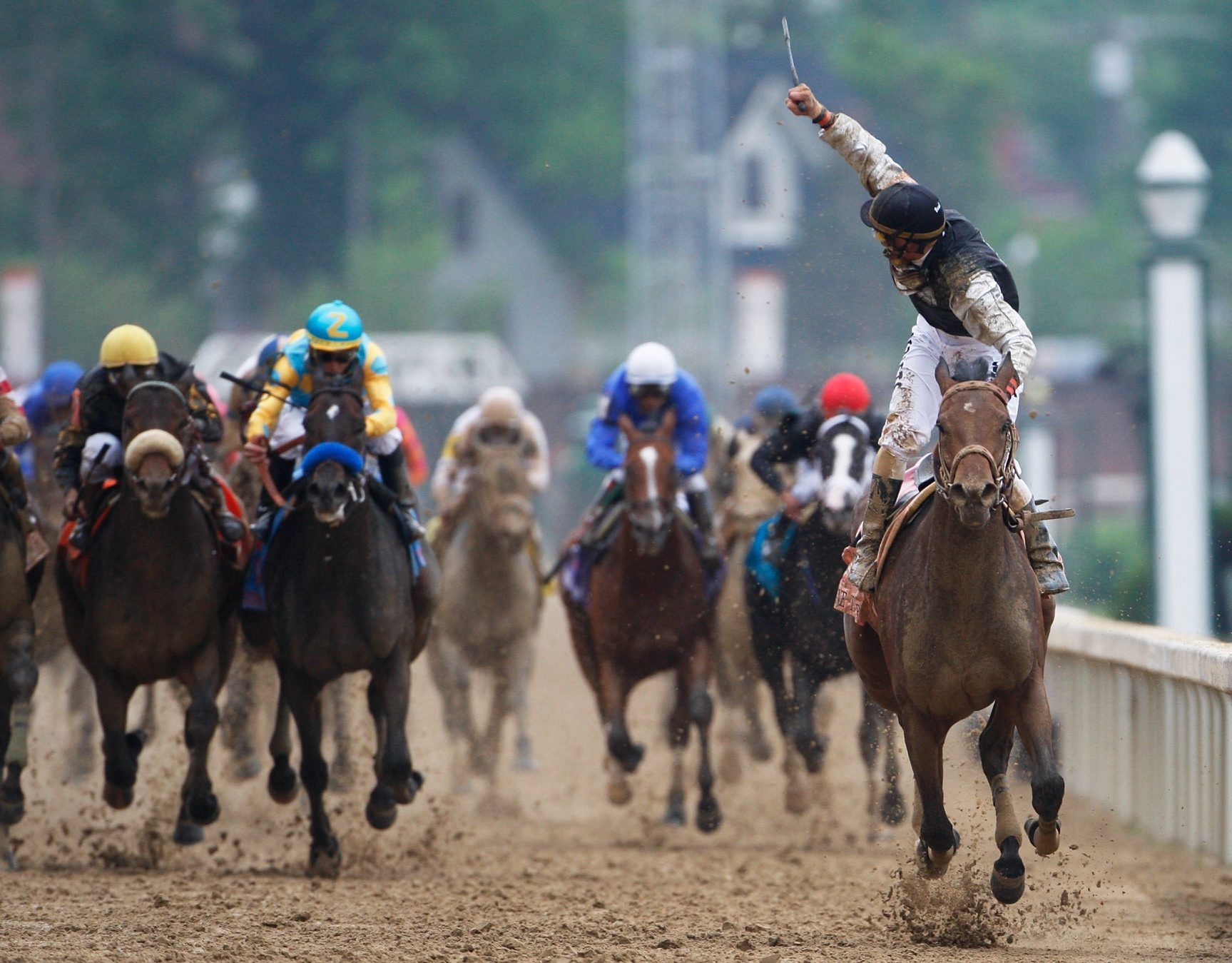 Mine That Bird's story will get the Hollywood treatment when the unlikely Kentucky Derby winner will be the subject of a movie in the spring.