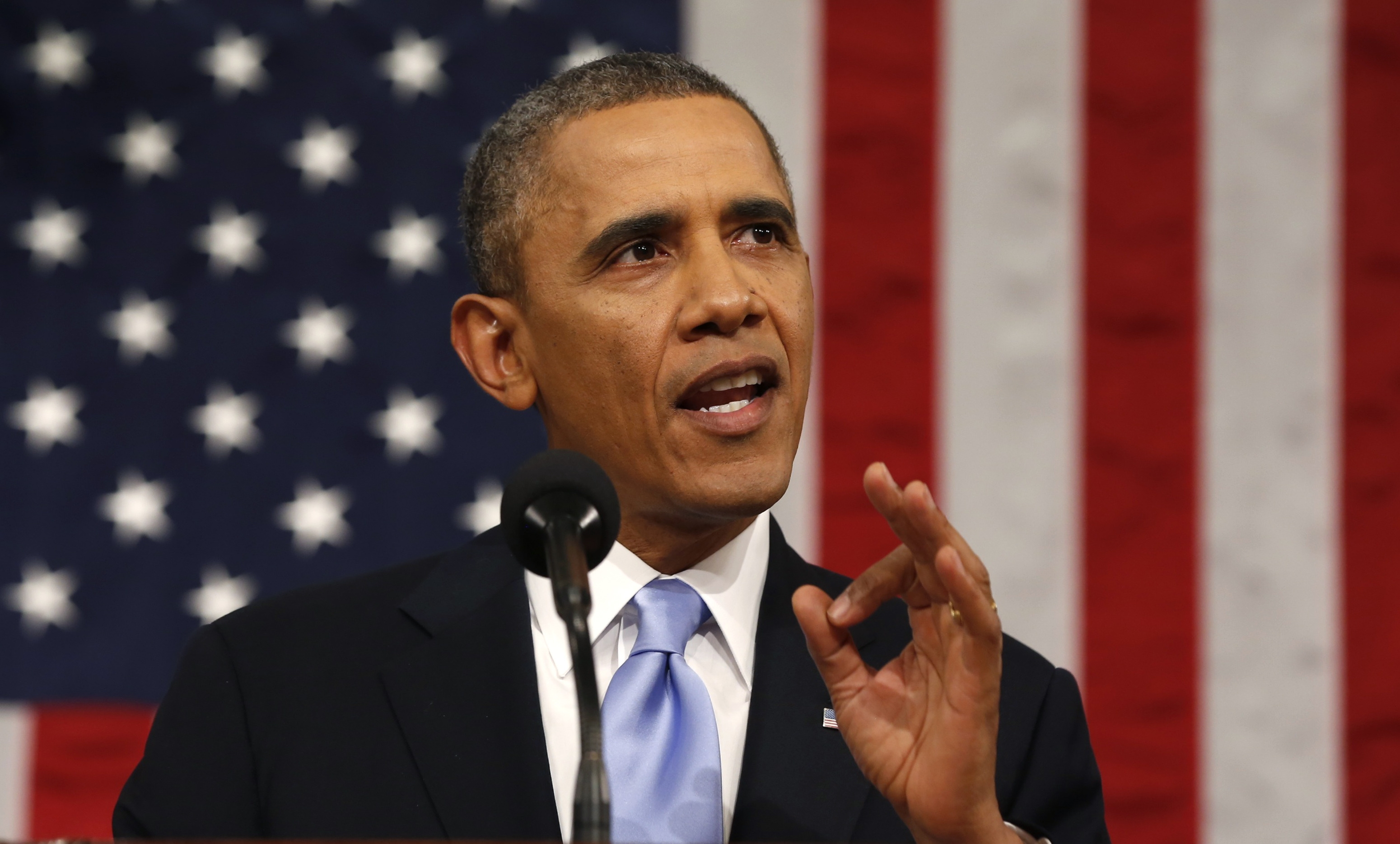 President Obama's tepid state of the union speech was a recognition of the dysfunction in the capital. (Getty Images)