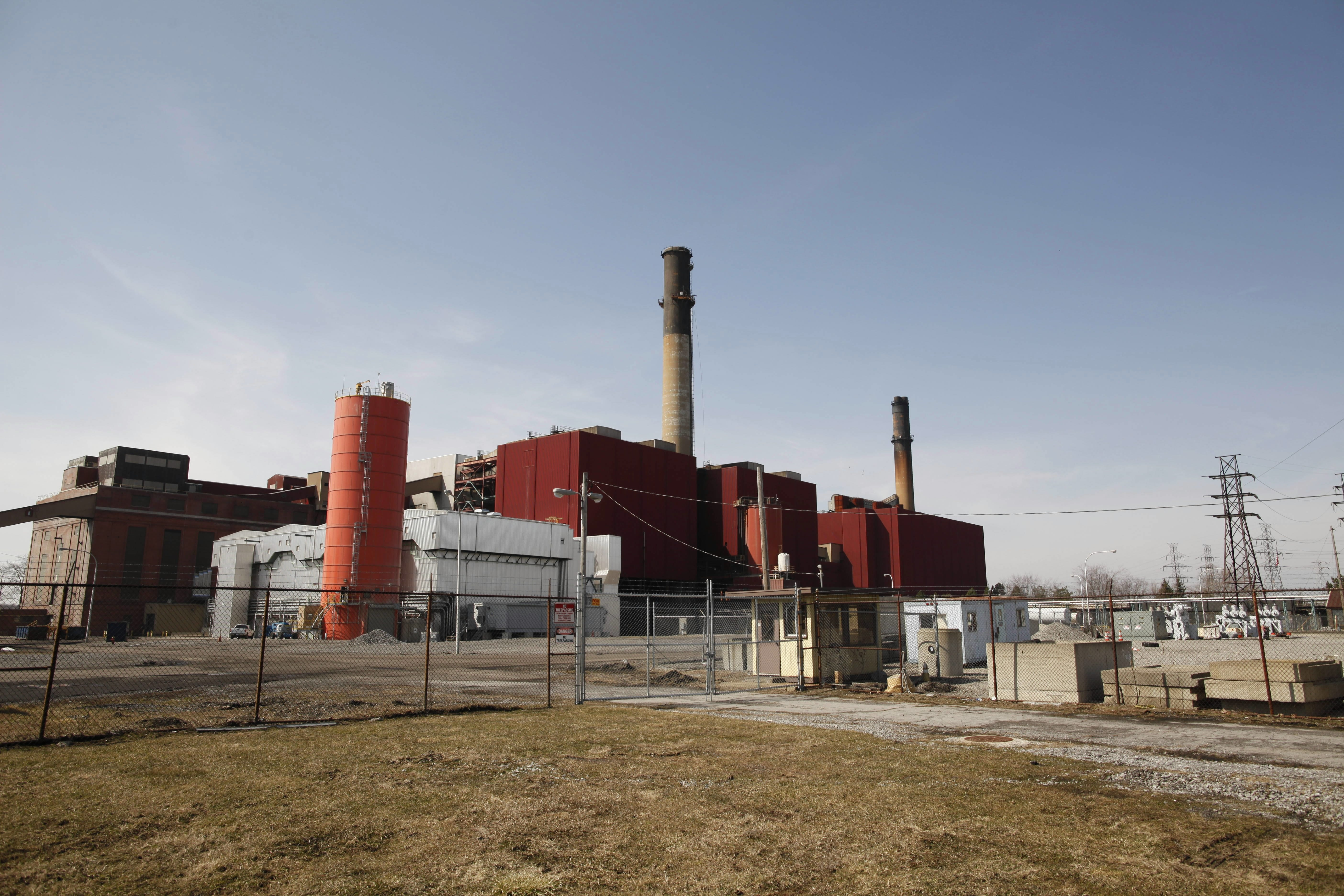 The Huntley Generating Station in Tonawanda.