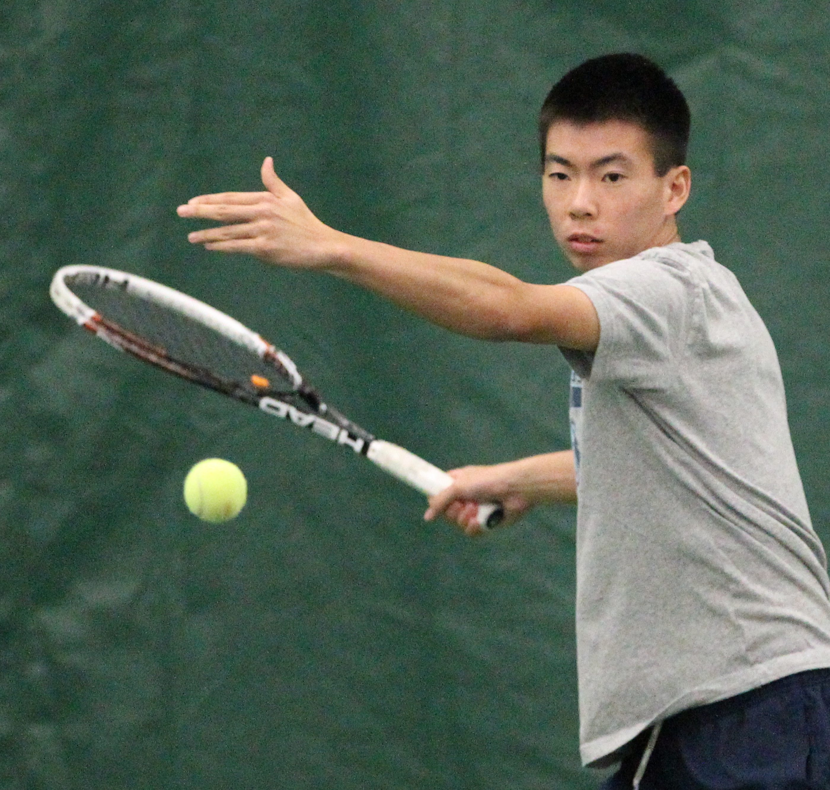 Winston Lin is ranked eighth in NCAA Division I singles, the highest ranking ever for any local player.