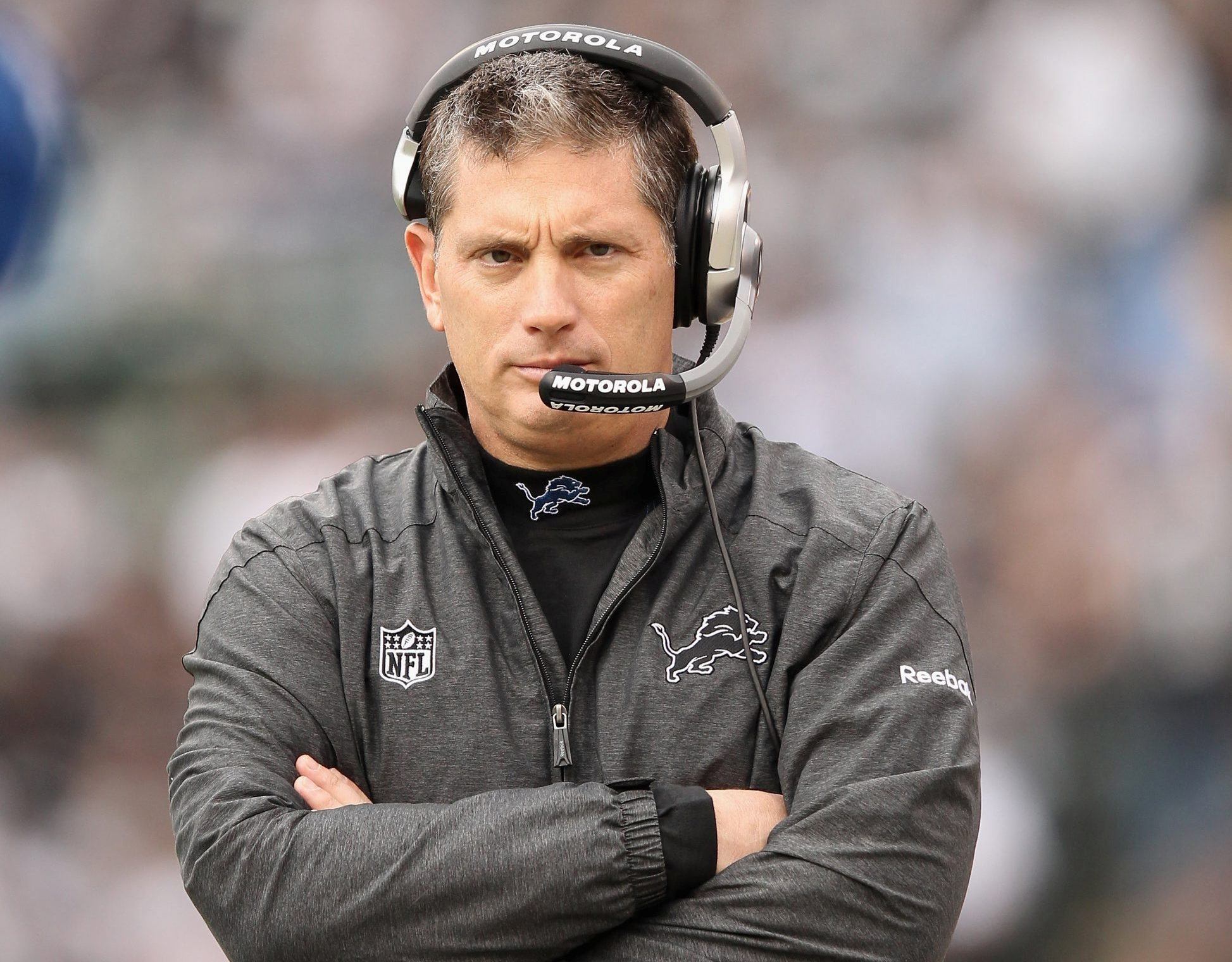 Jim Schwartz, hired to succeed Mike Pettine in Buffalo, was Lions head coach for five seasons. Getty Images