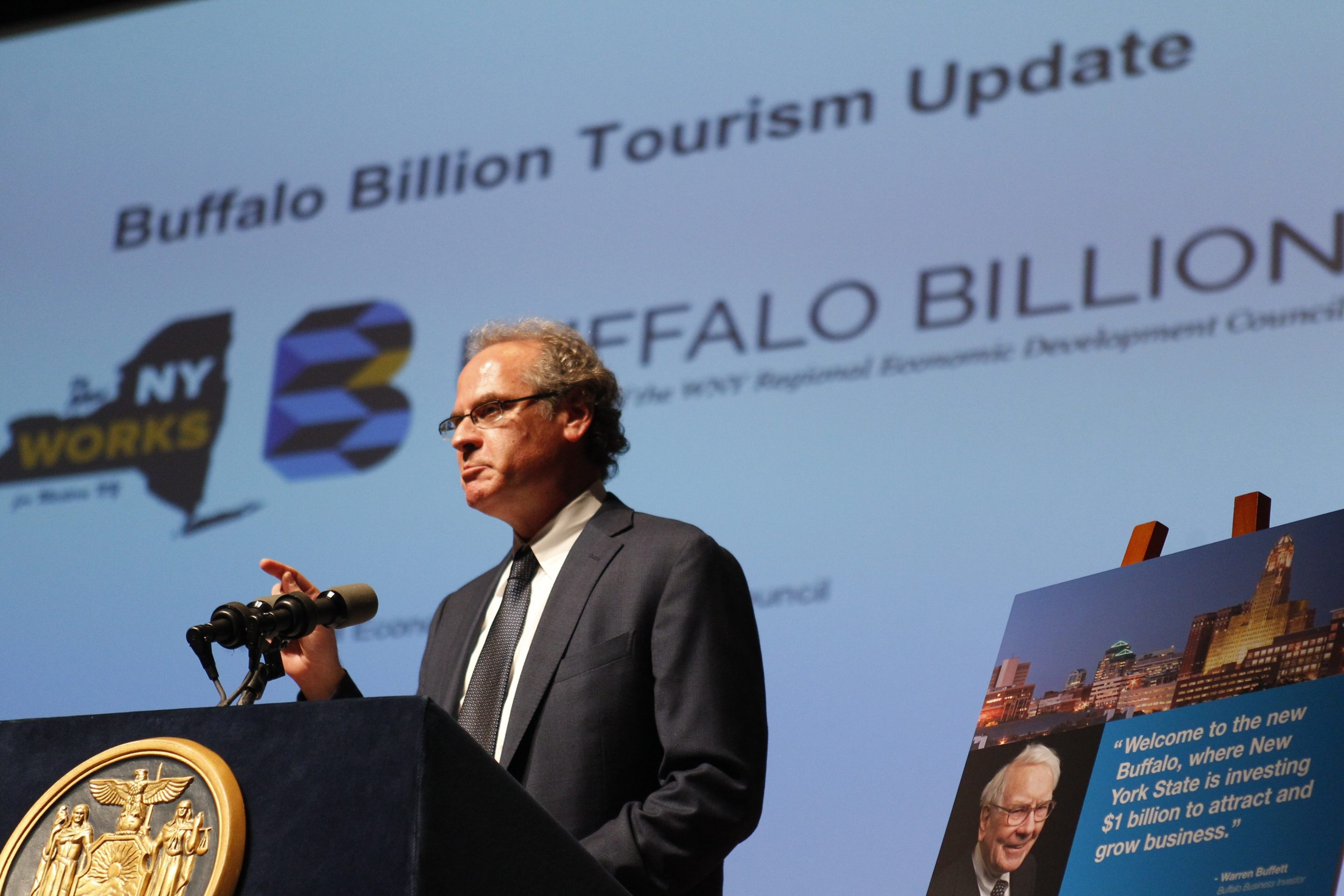 """Howard Zemsky, co-chairman of the Western New York Regional Economic Development Council, said that with the Buffalo Billion commitment in the state budget, """"we'd have the capital funding and the working capital to implement the full range of our initiatives."""" (Buffalo News file photo)"""