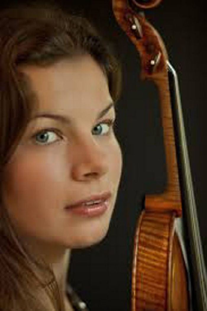 Bella Hristova performs two Beethoven sonatas in a Gift to the Community concert on Sunday.