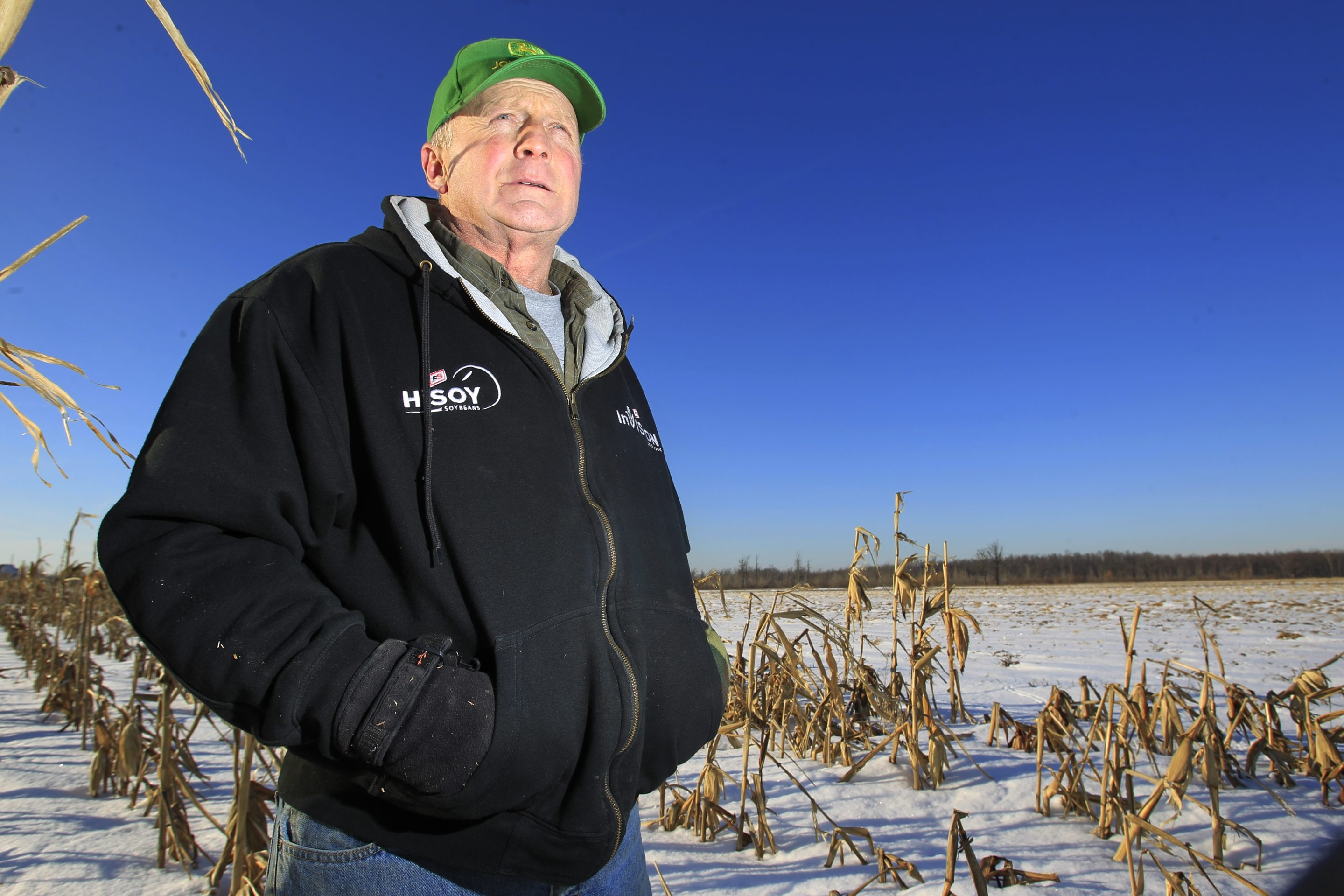 Town paid Greg Spoth for development rights, meaning he keeps property with the assurance that it remains farmland.