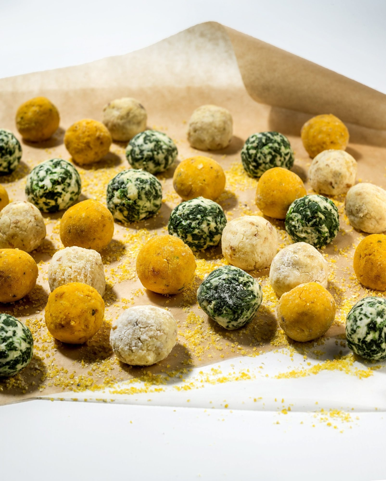 Gnudi, an Italian dumpling, has been showing up everywhere lately. Varities include plain ricotta gnudi as well as ricotta with squash or spinach. (Bill Hogan/Chicago Tribune/MCT)
