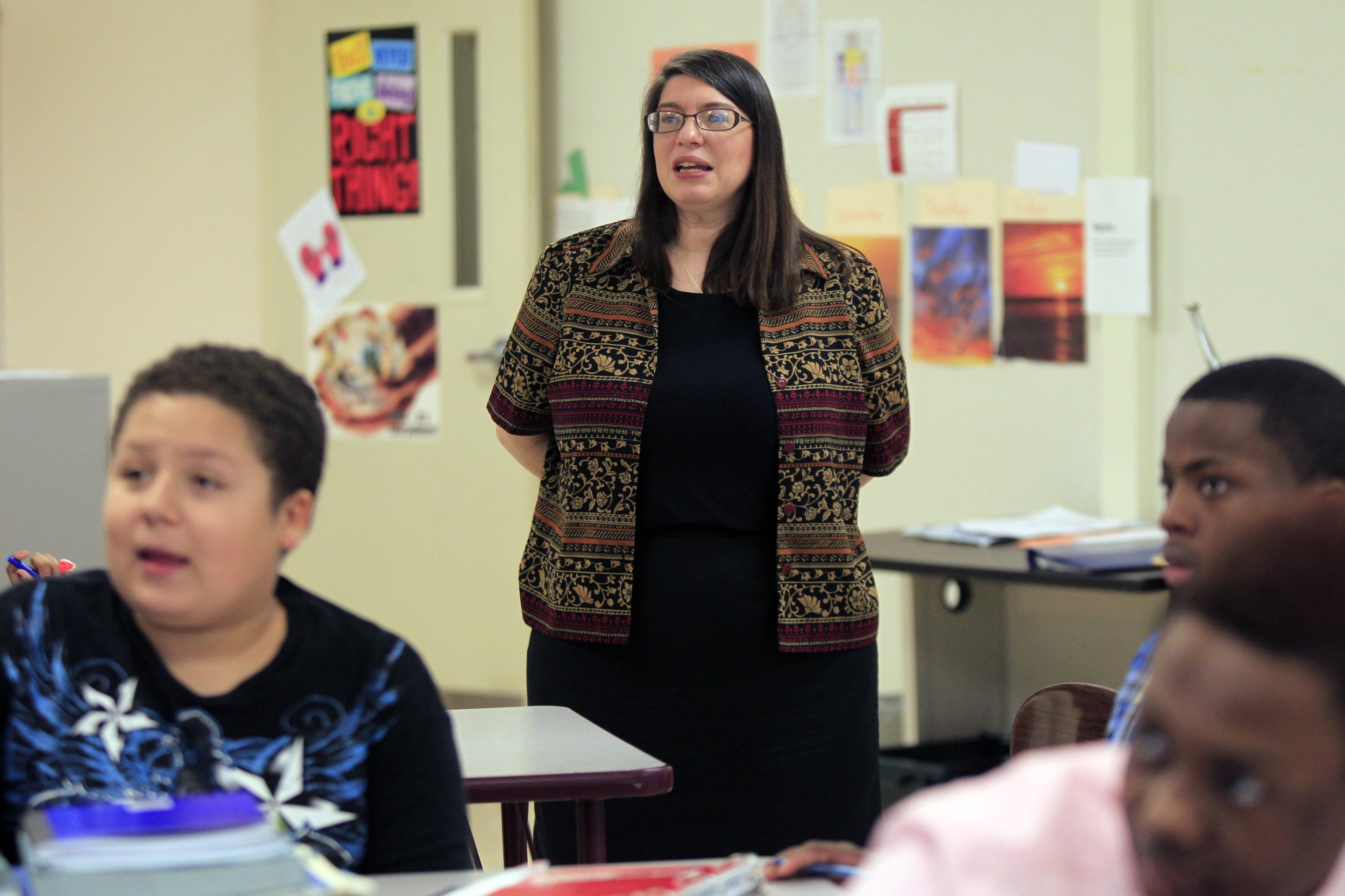 Mary Dileas is a veteran math teacher with more than 20 years of experience. The Emerson School ofHospitality teacher is one of four Buffalo Public Schools teachers who have recently earned the National Board for Professional Teaching Standards certification.