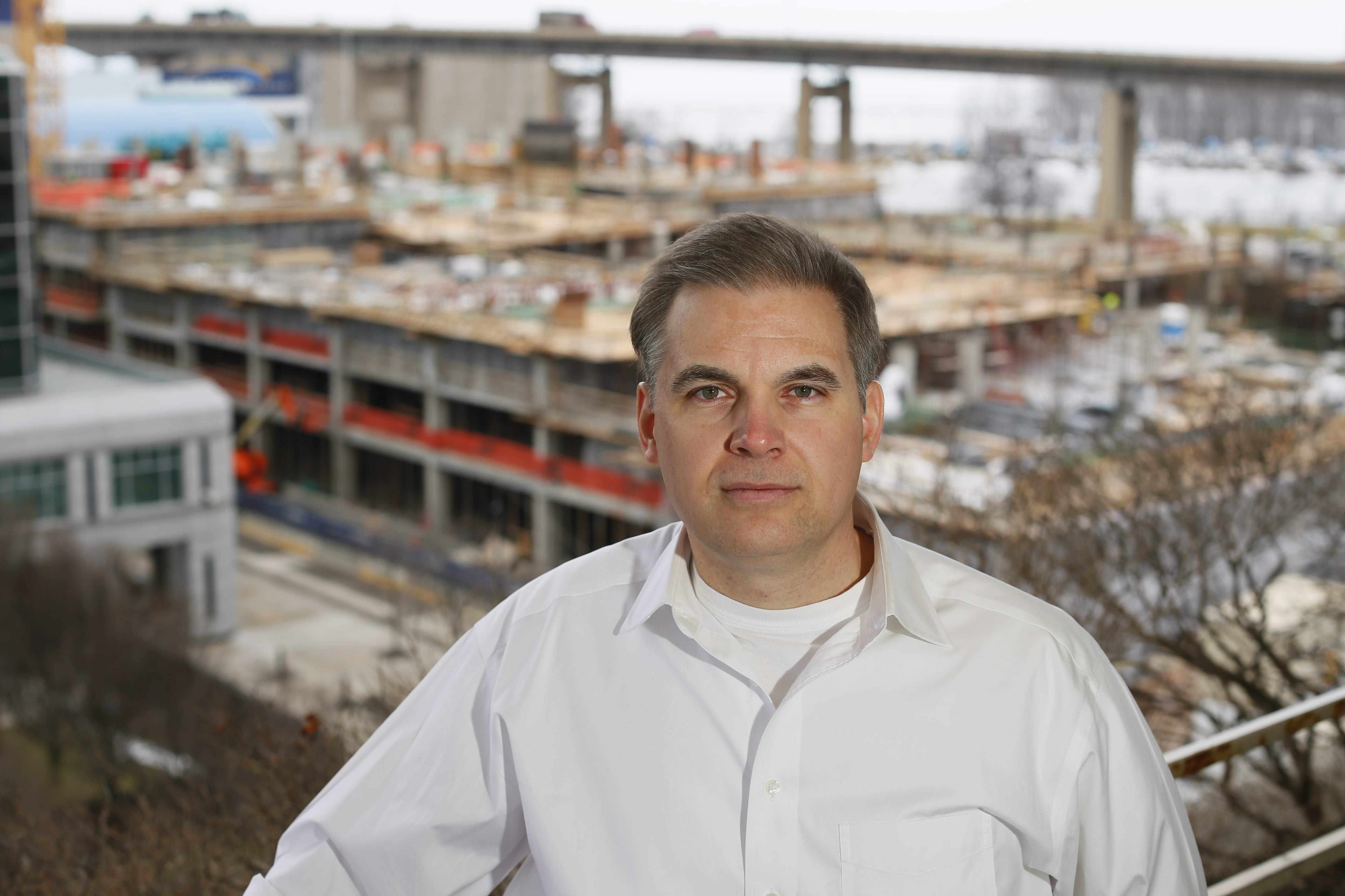 Andrew Pulkarabek sees the Buffalo region's potential in developing a startup business ecosystem.