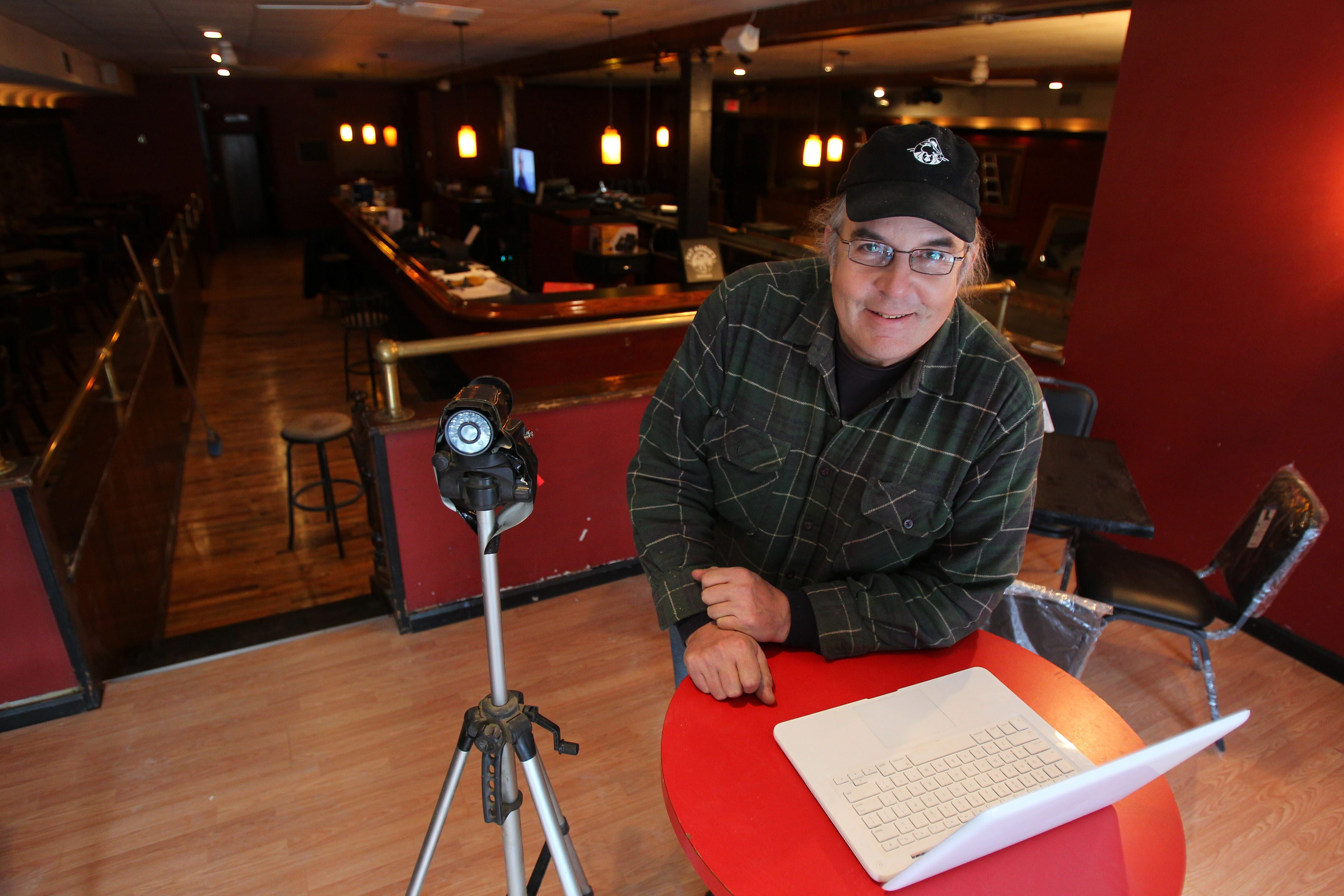 Dan Murphy is installing a number of cameras in his new bar near Chippewa Street to create a reality TV show.