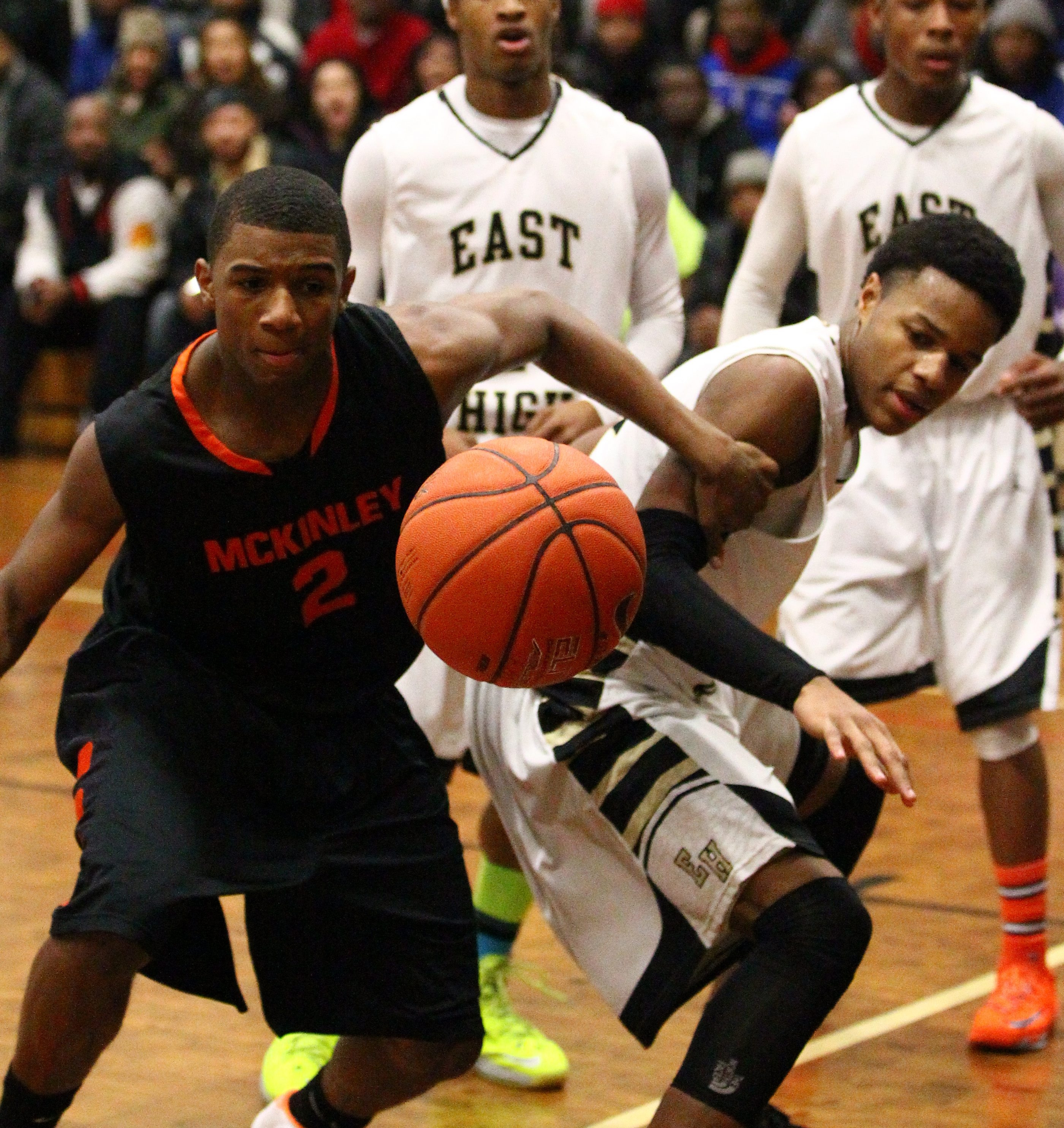 McKinley and Shaquan Jones, left, and East and Ricardo Humphrey are both among Western New York's top teams.