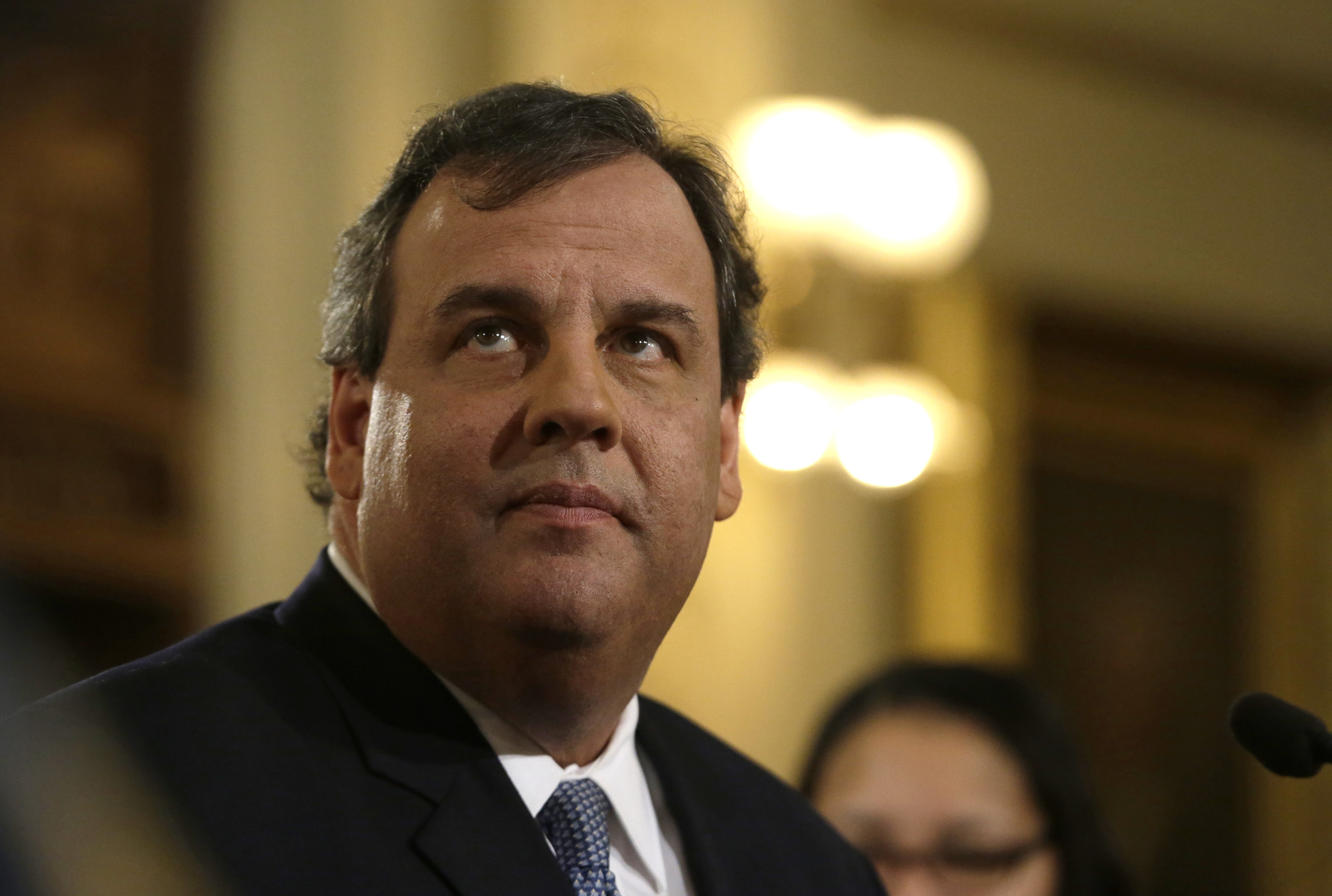 New Jersey Gov. Chris Christie is caught up in a scandal involving the exacting of retribution on political opponents. (AP photo)