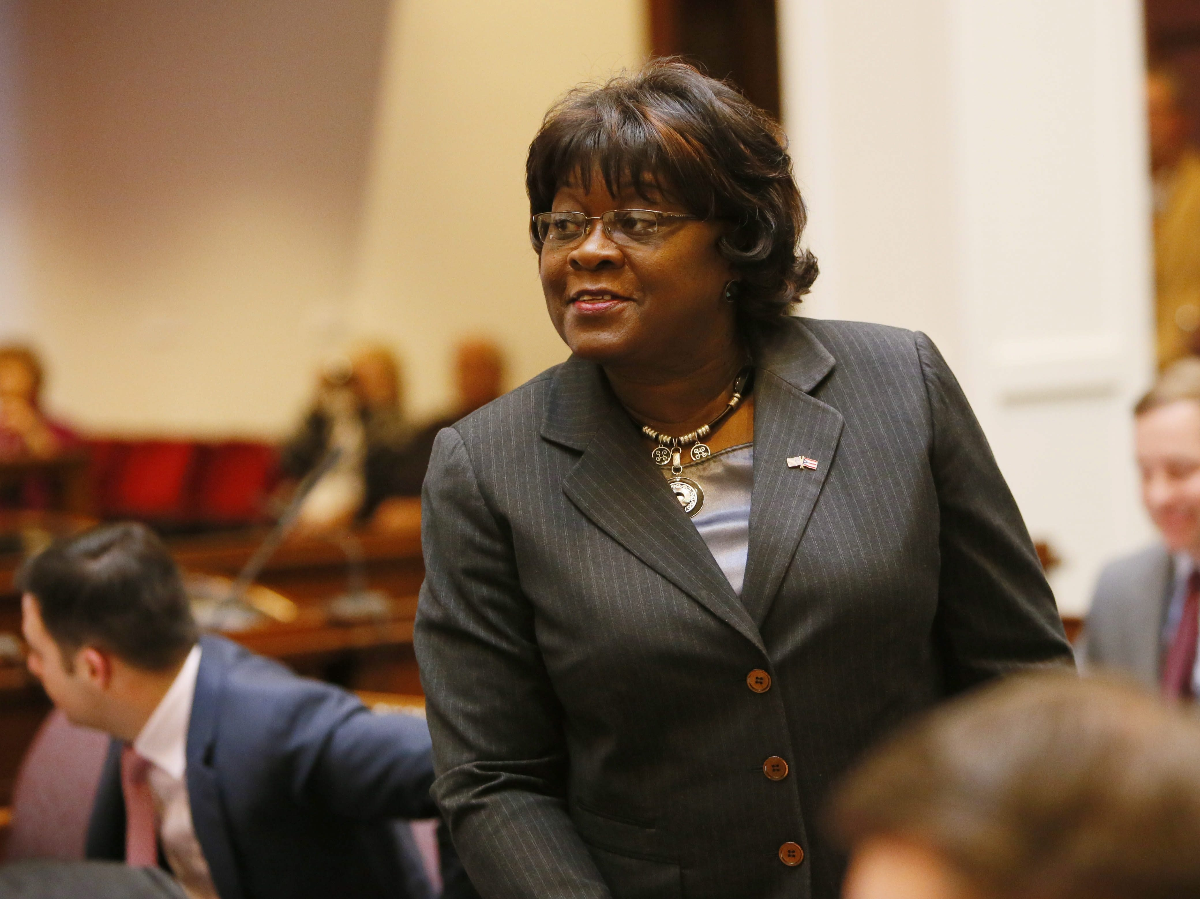 """County Legislator Betty Jean Grant says the matter was """"an attempt to undermine my integrity."""""""