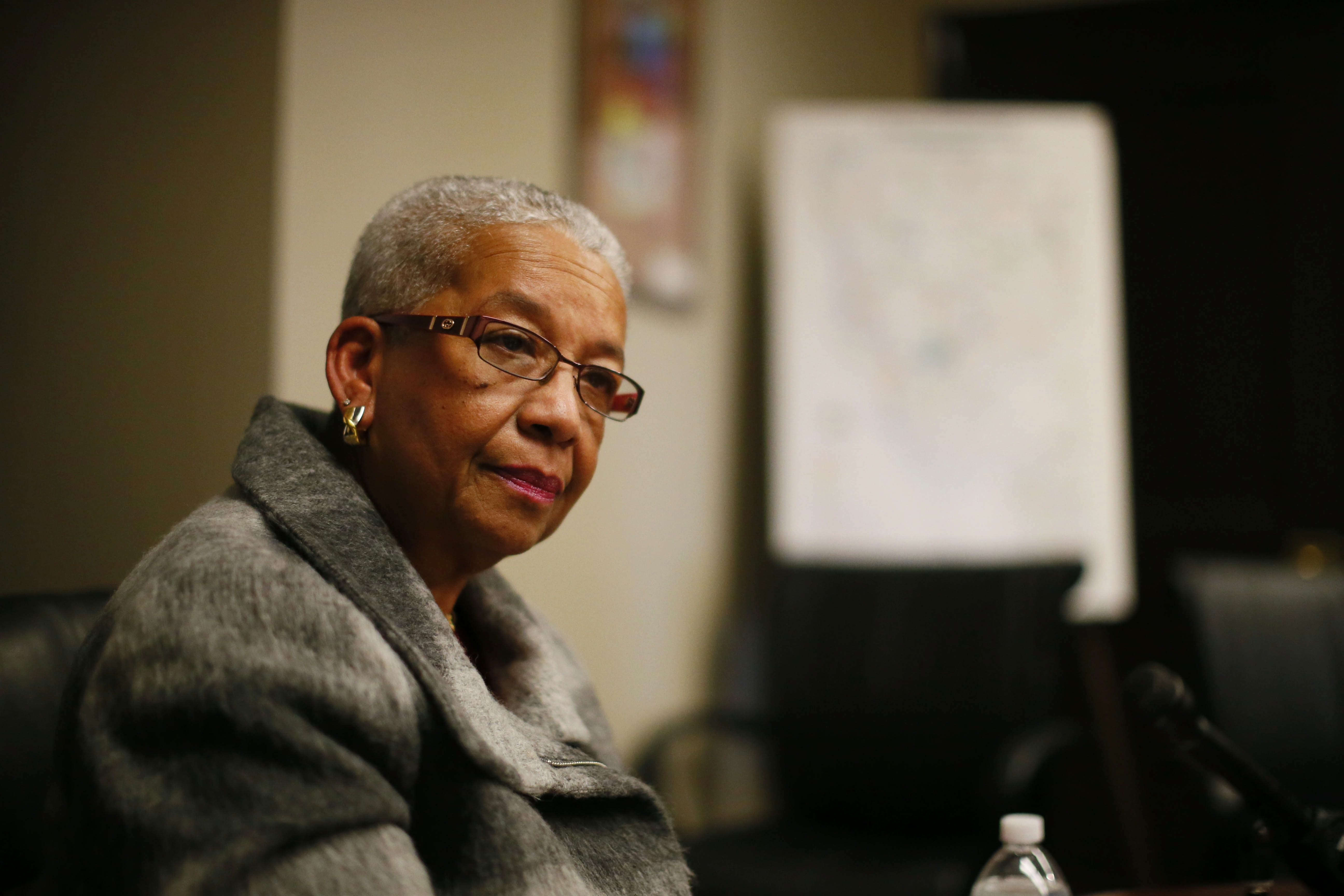 Barbara Seals-Nevergold, president of the Buffalo Board of Education, has been under fire by fellow board member Carl Paladino, who has sought her removal from office.