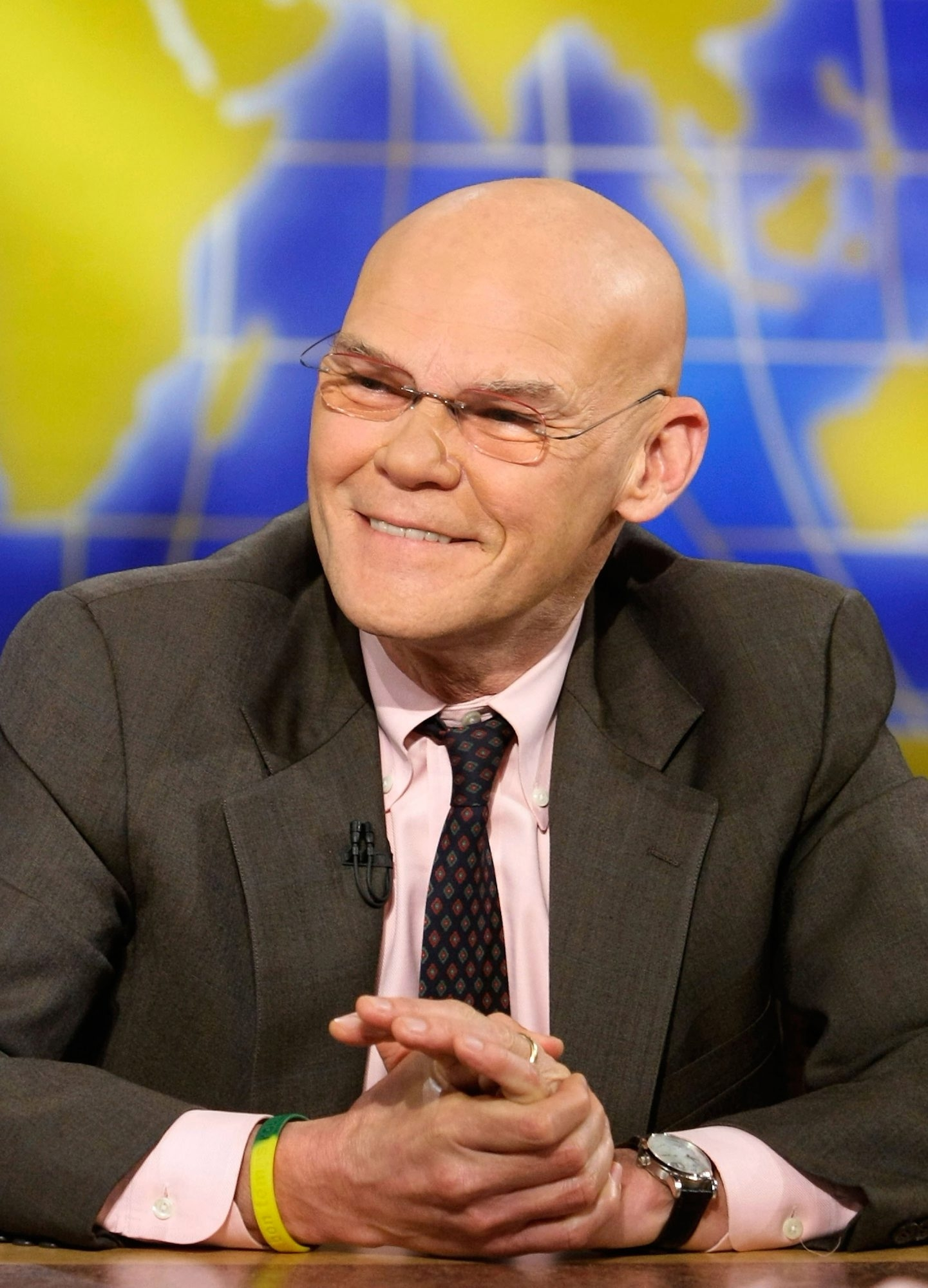 James Carville suggests that Hillary Clinton should think of Buffalo as the anti-Washington.