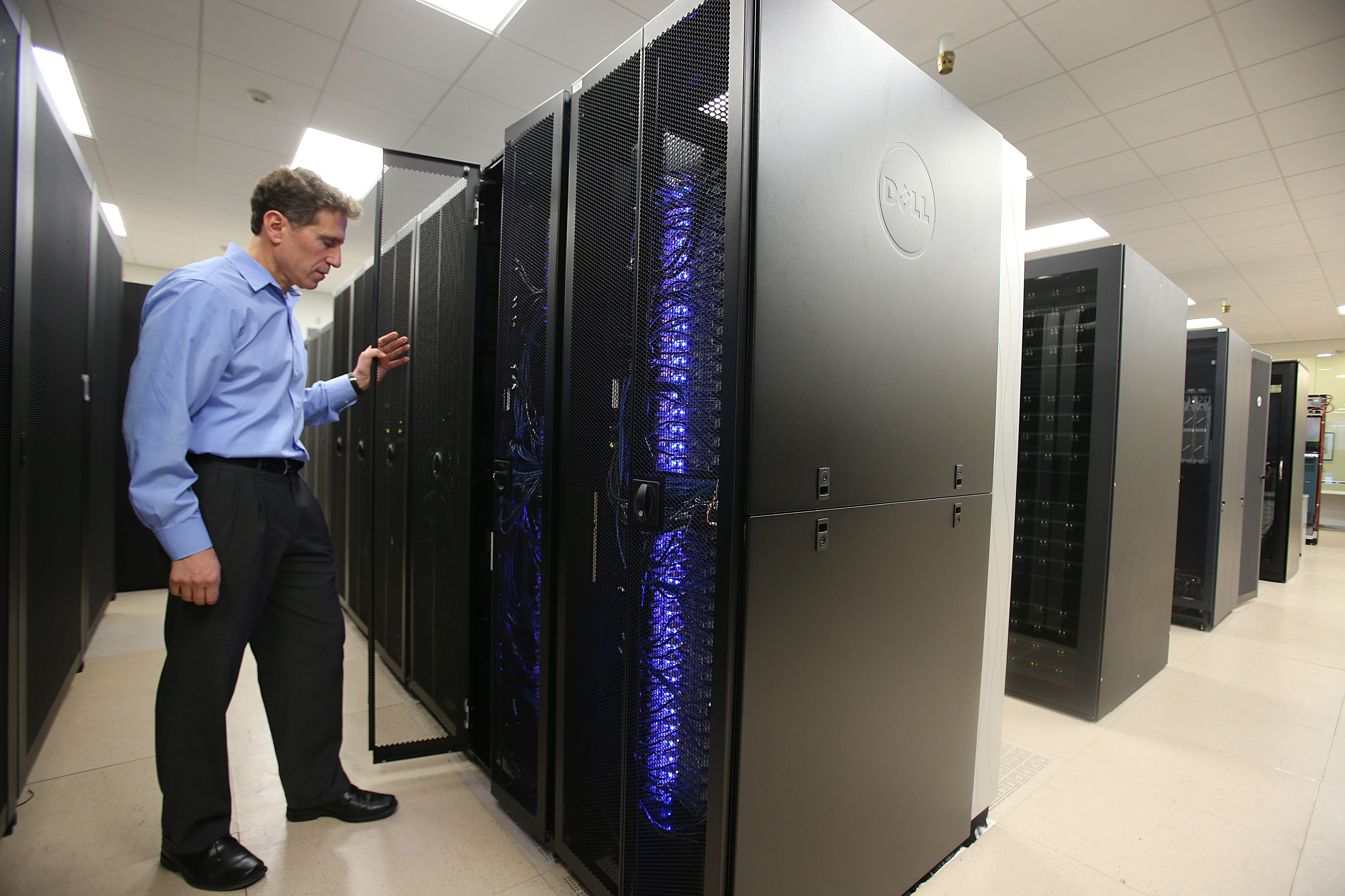 Massive computing horsepower is required for genome mapping, said Tom Furlani, director of the Center for Computational Research, located on the Buffalo Niagara Medical Campus.