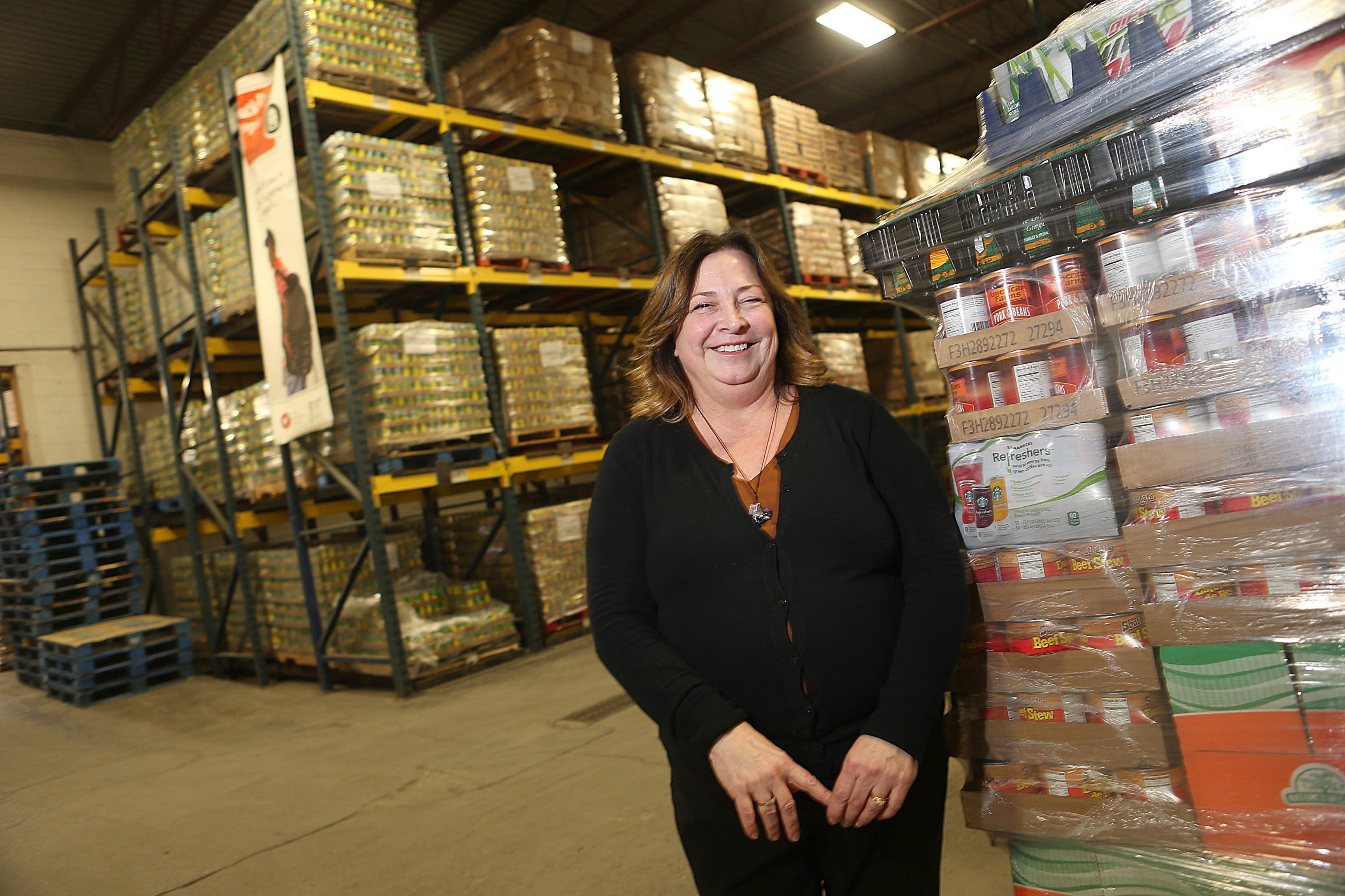 Carol Palumbo, new agency services director at the Food Bank of WNY, talks about her life of service and the challenges she faces in her new position.