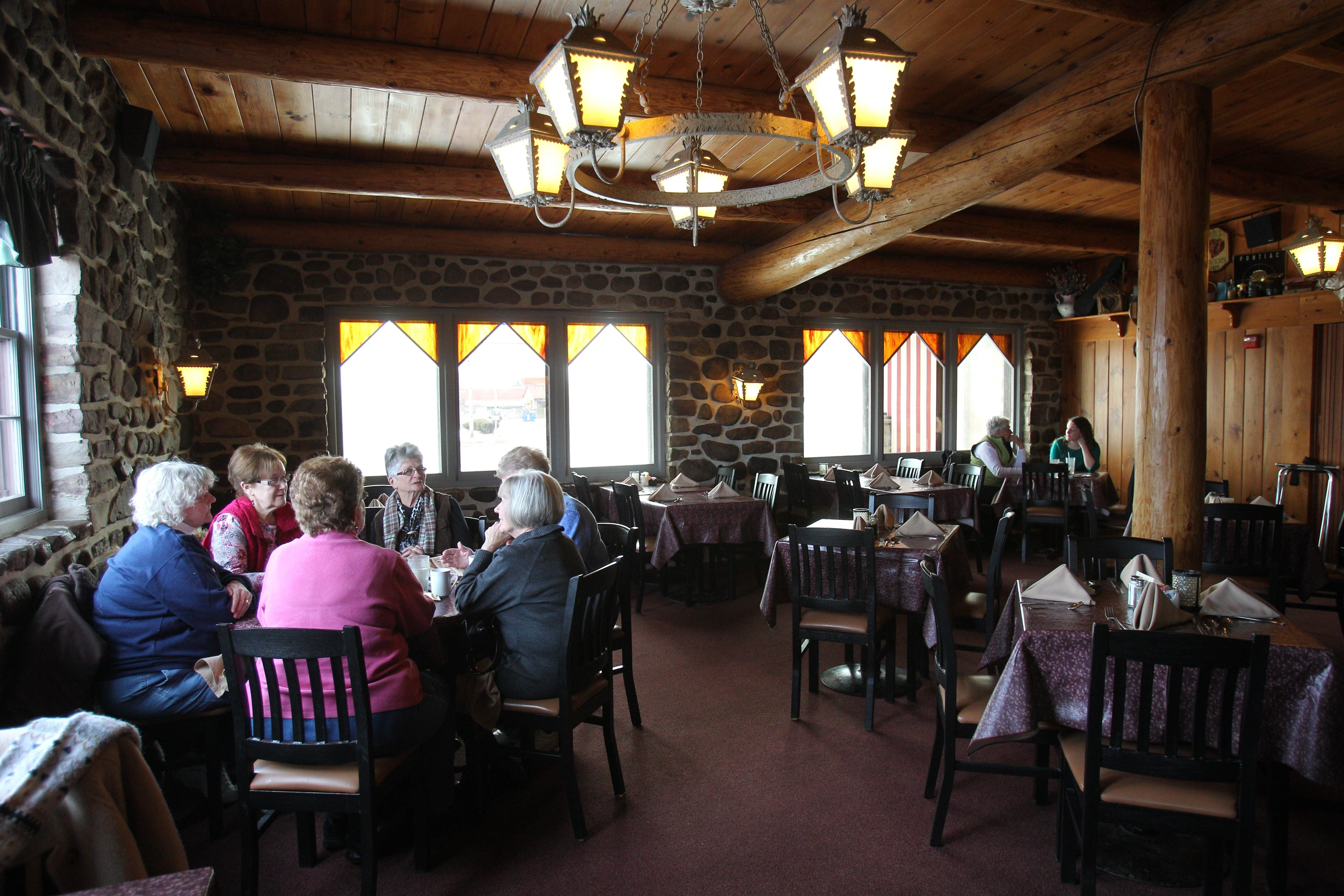 The Fieldstone County Inn on South Transit Road in Lockport opened in 1944 and features an extensive soup and salad bar.