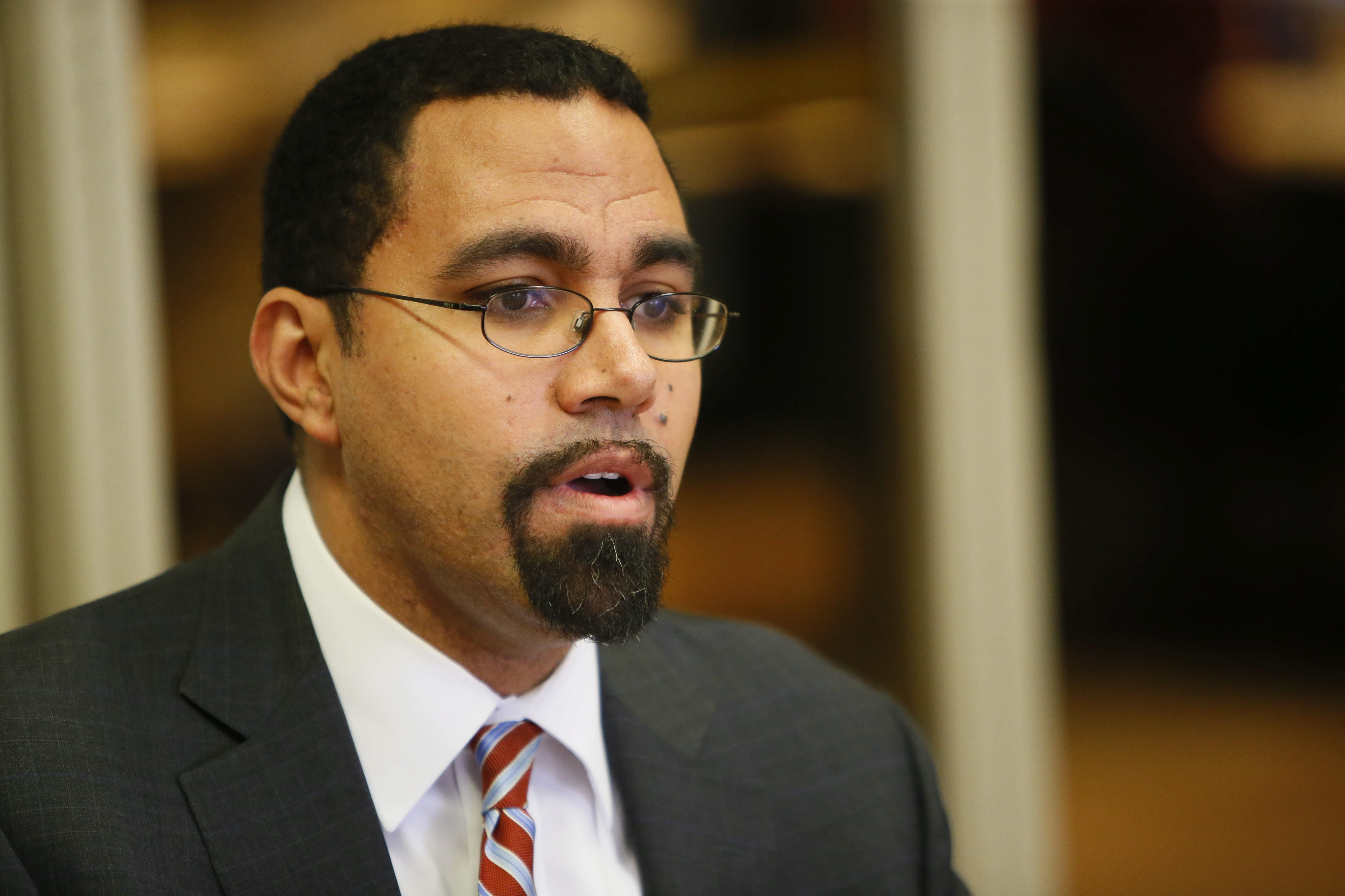 Education Commissioner John King secured federal waiver on math tests.