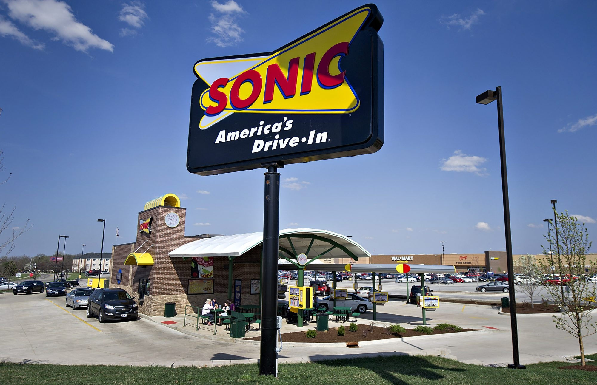 Sonic Drive-In has more than 3,500 restaurants in the country and also has announced plans to open six in the Rochester area.