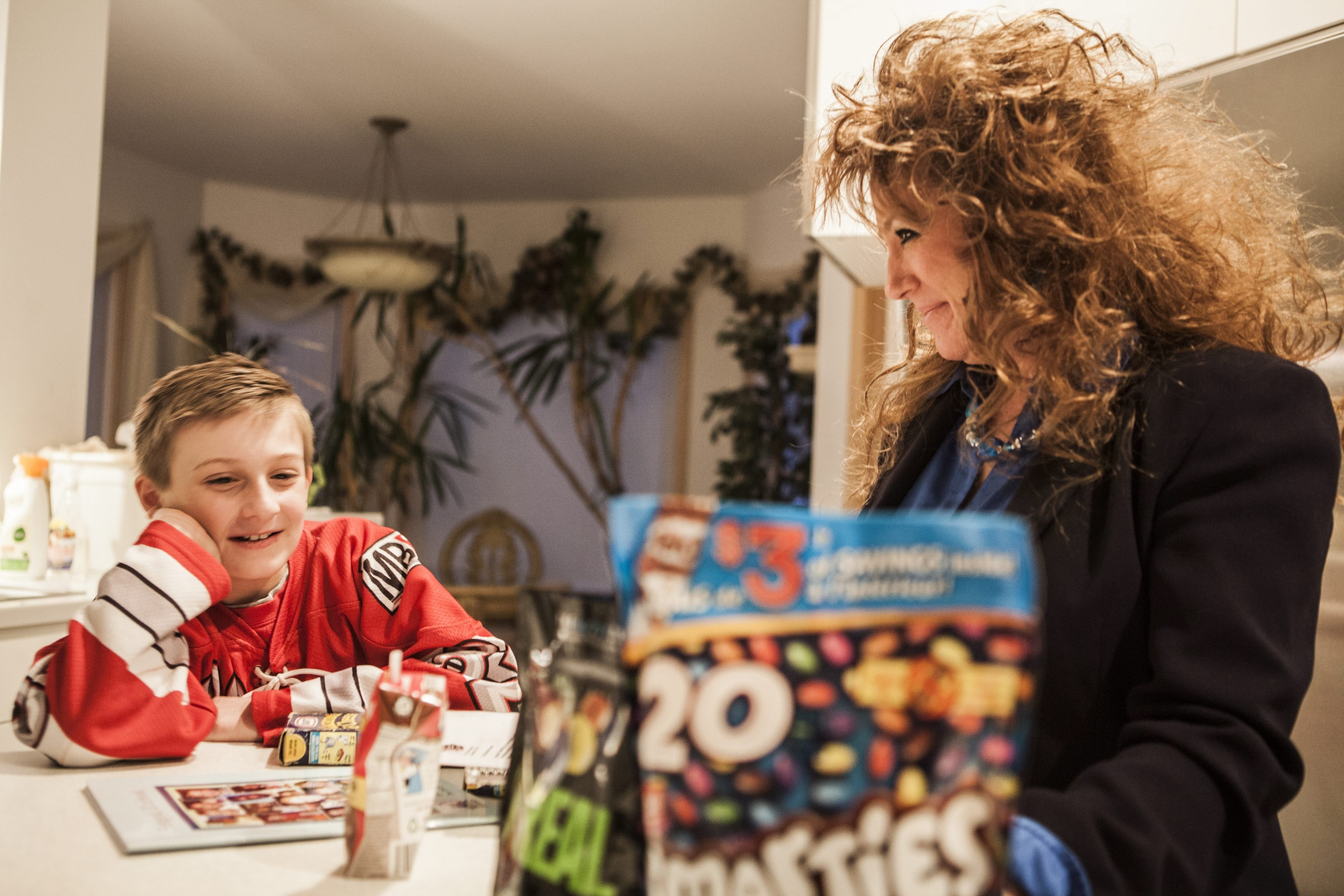 Renee Shutters and her son, Trenton. She testified before the Food and Drug Administration about the danger some food dyes posed to her son, to no avail, but may have better luck with an online petition.
