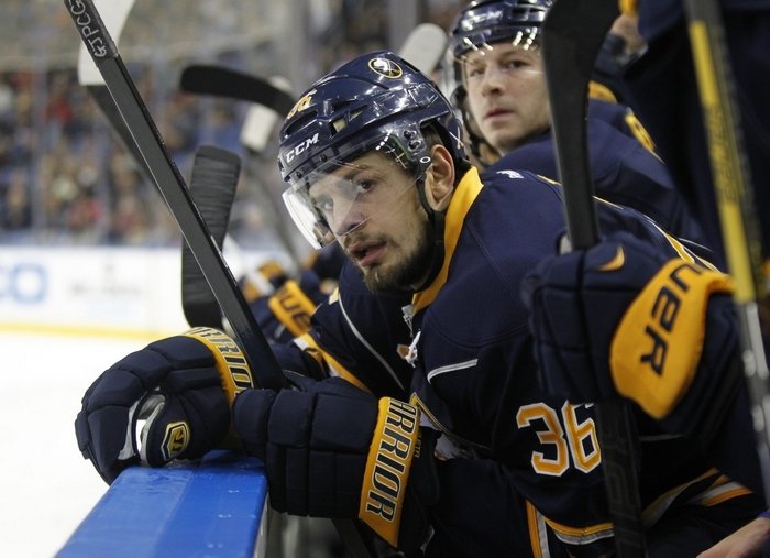 Patrick Kaleta shenanigans has overshadowed the fact he's a solid third- to fourth-line player. (Harry Scull Jr. / Buffalo News file photo)