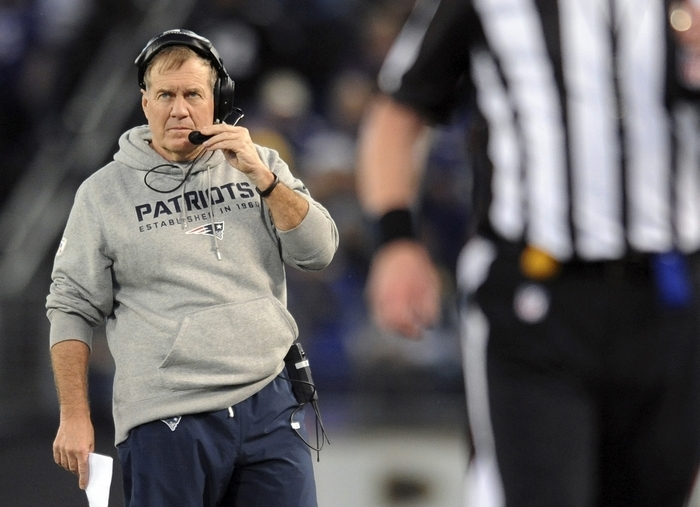 Since Bill Belichick took over the New England Patriots in 2000, there have been 136 coaching changes in the NFL. Belichick has guided the Pats to three Super Bowl titles and five AFC championships. (Associated Press)