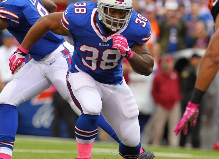 Bills fullback Frank Summers, scheduled to become an unrestricted agent, says he will work hard in hopes of returning to Buffalo. (Mark Mulville/Buffalo News)