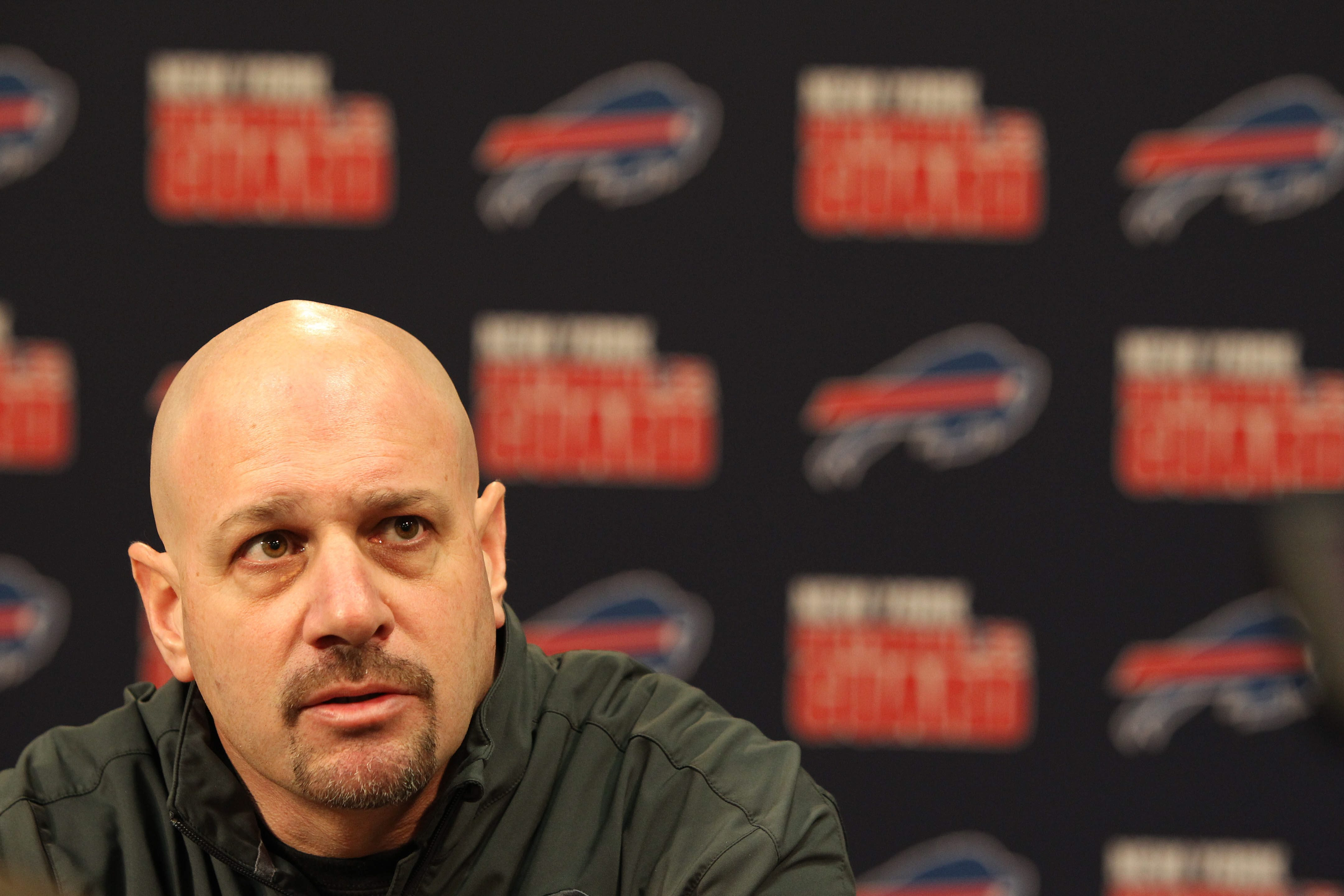 Bills fans quickly warmed up to defensive coordinator Mike Pettine's aggressive approach. (Mark Mulville/Buffalo News)
