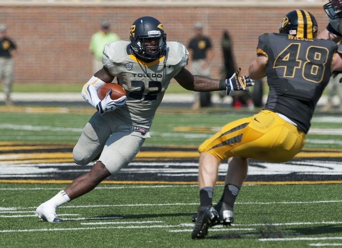 Lockport graduate and Senior Bowl invite David Fluellen rushed for 3,336 yards in an injury-shortened college career. (Associated Press)