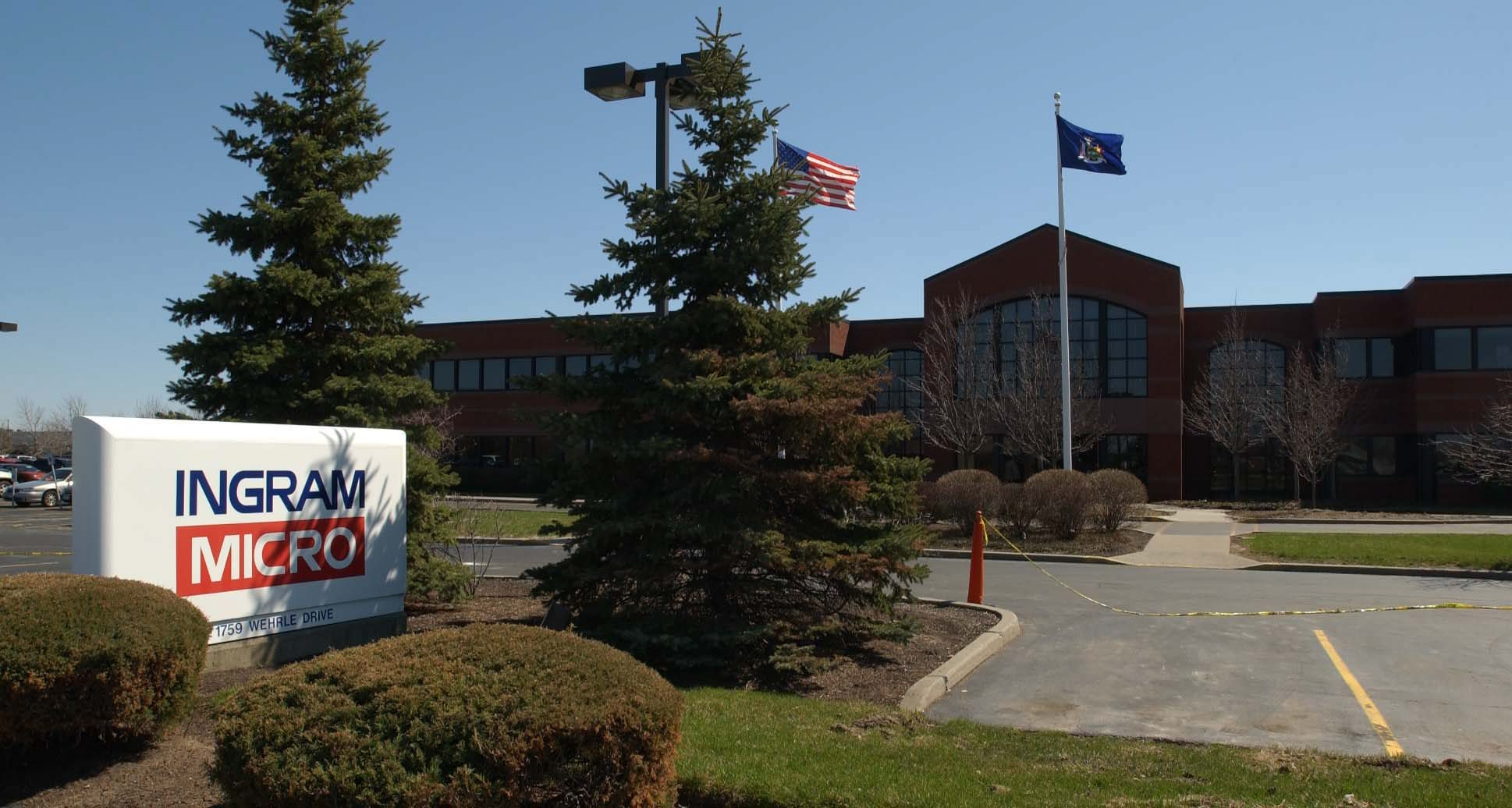 Ingram Micro's Amherst site on Wehrle Drive is part of realignment.